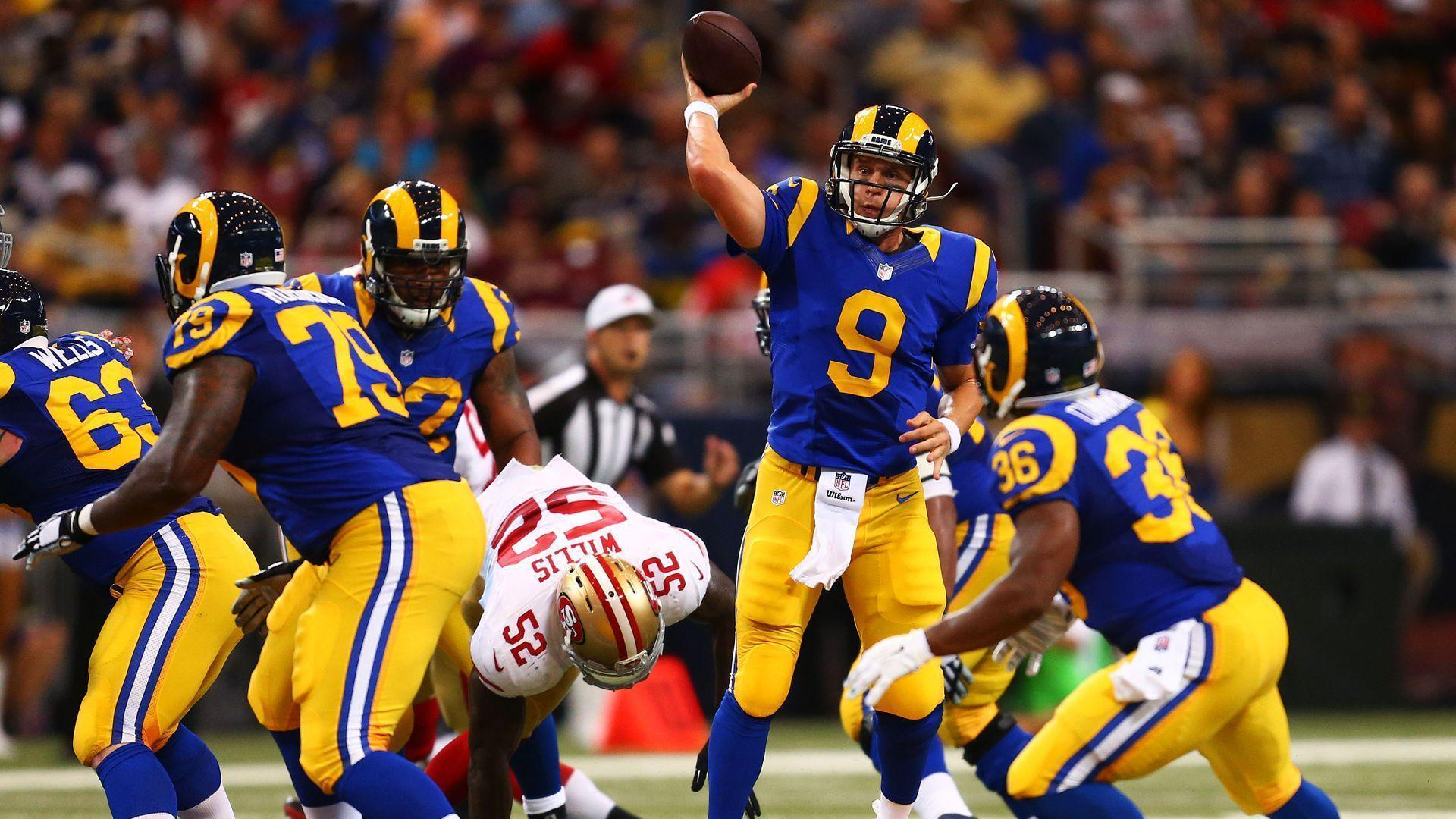 WELCOME BACK TO SOCAL, LOS ANGELES RAMS!