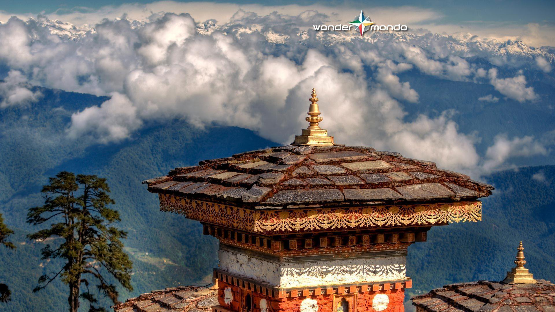 Wallpaper with Dochula Pass, Bhutan | Wondermondo