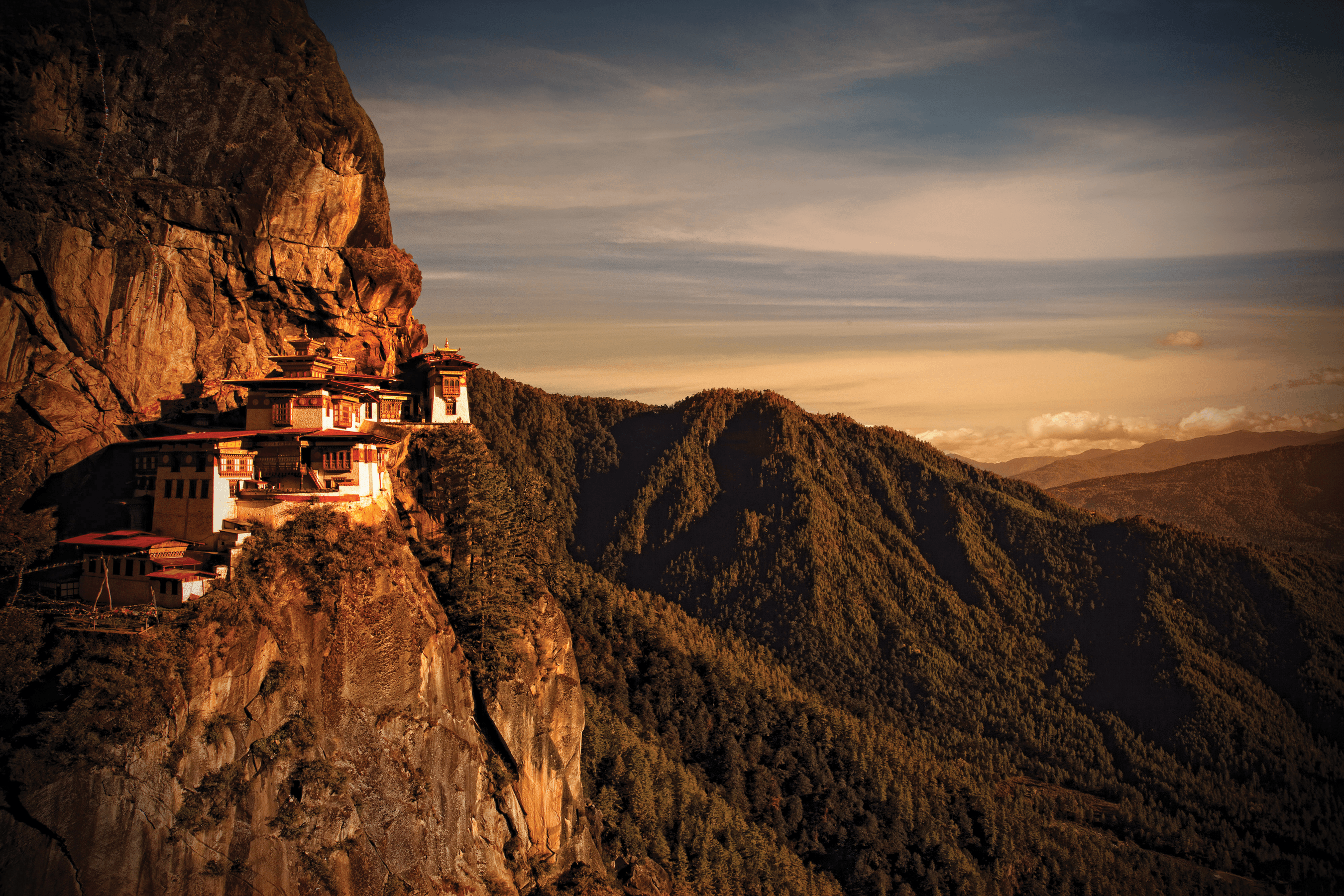 The Tiger's Nest (Paro Taktsang), Paro Valley, Bhutan | Fantastic ...