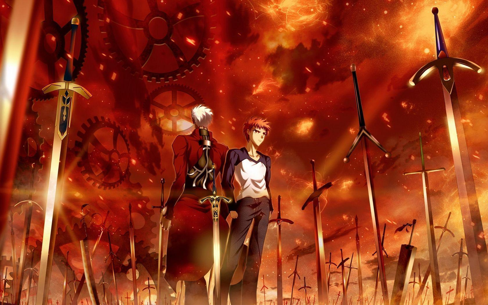 fate/stay night: unlimited blade works wallpapers - wallpaper cave