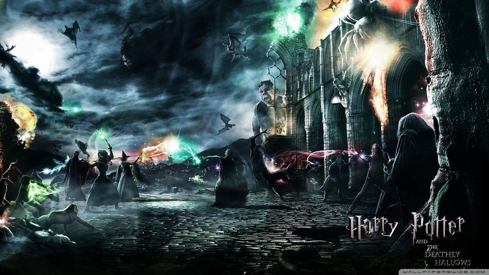 Wallpaper pc hd harry potter