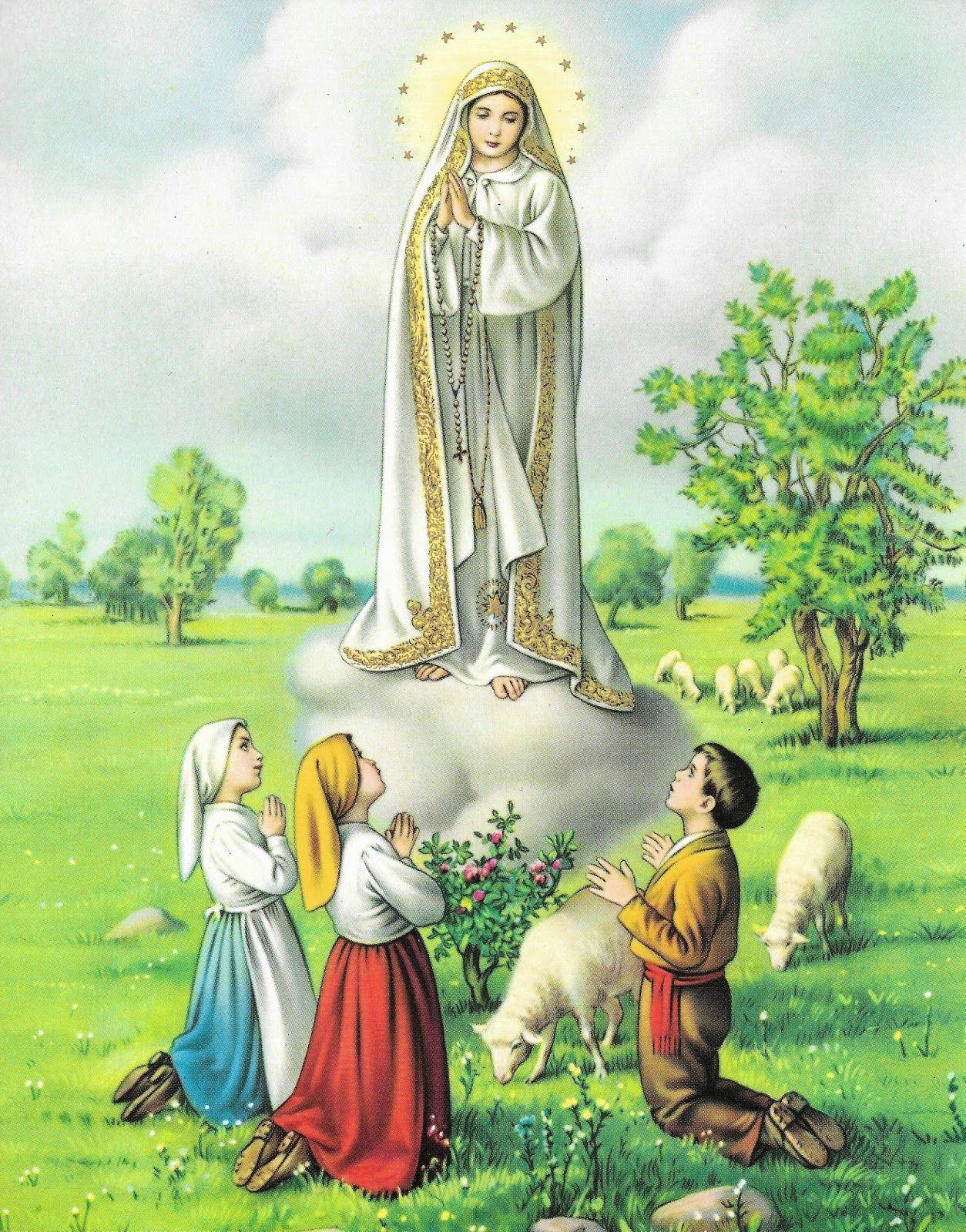 Our Lady Of Fatima Wallpapers Wallpaper Cave