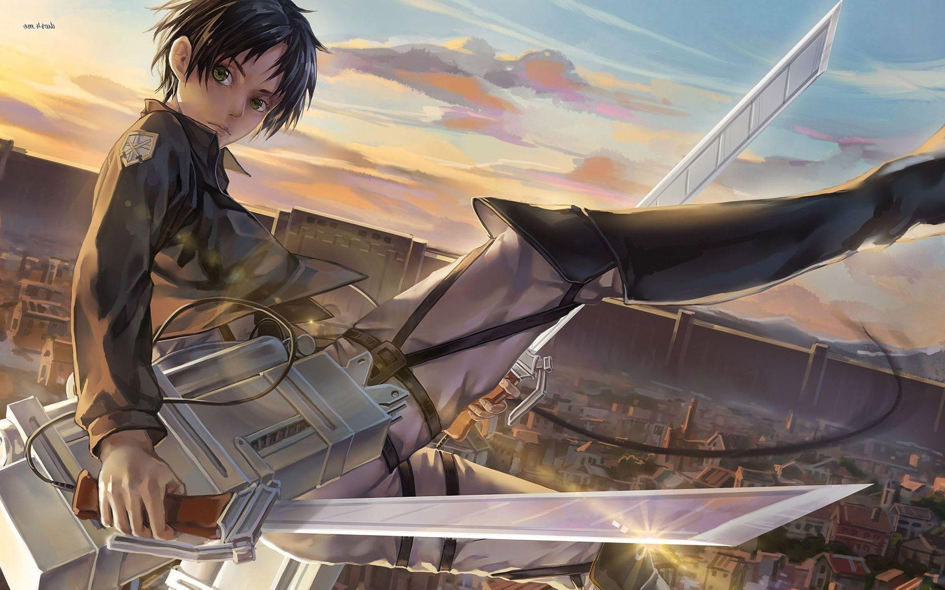 17+ Eren Yeager Attack On Titan wallpapers HD Download