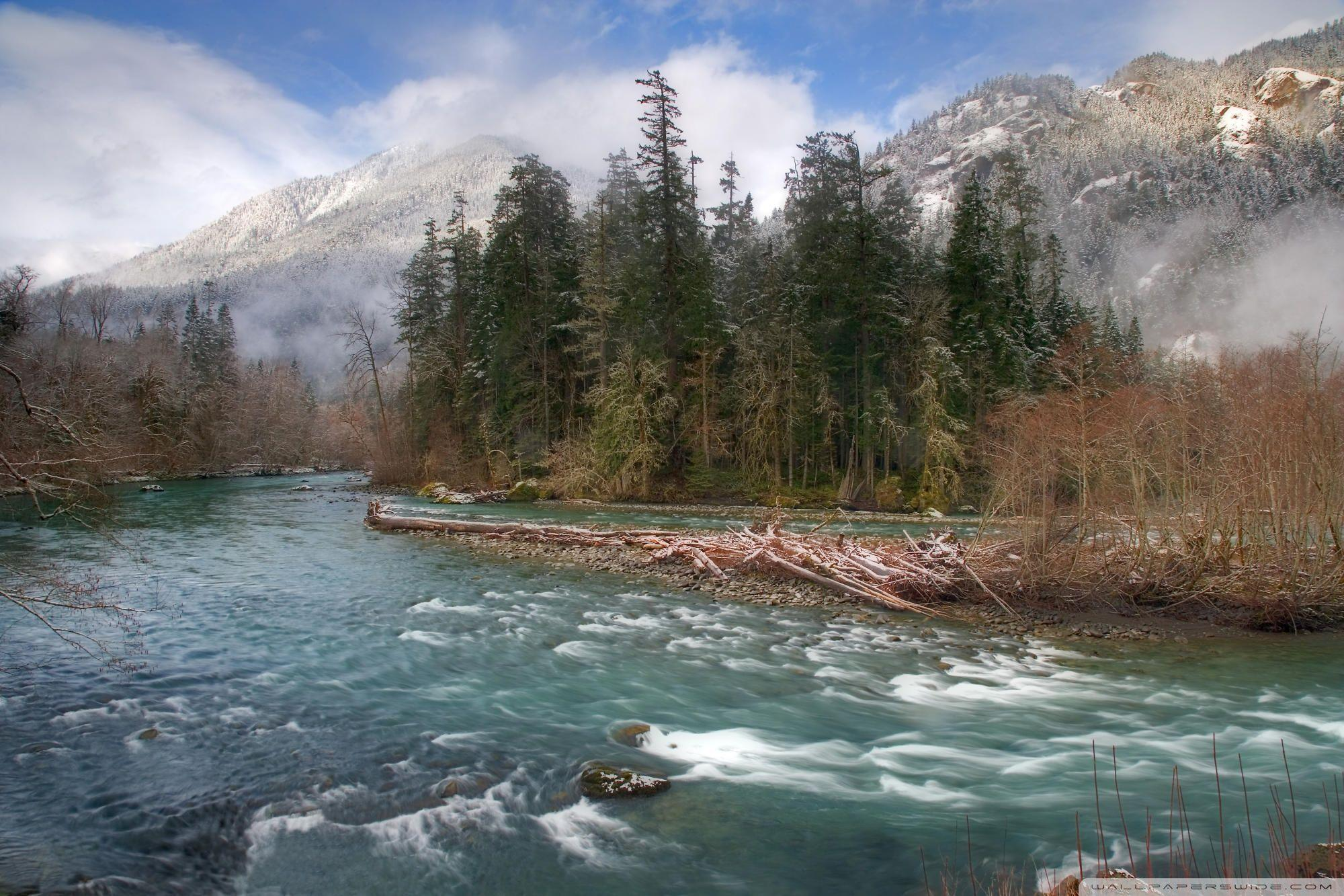 Elwha River Olympic National Park HD desktop wallpapers