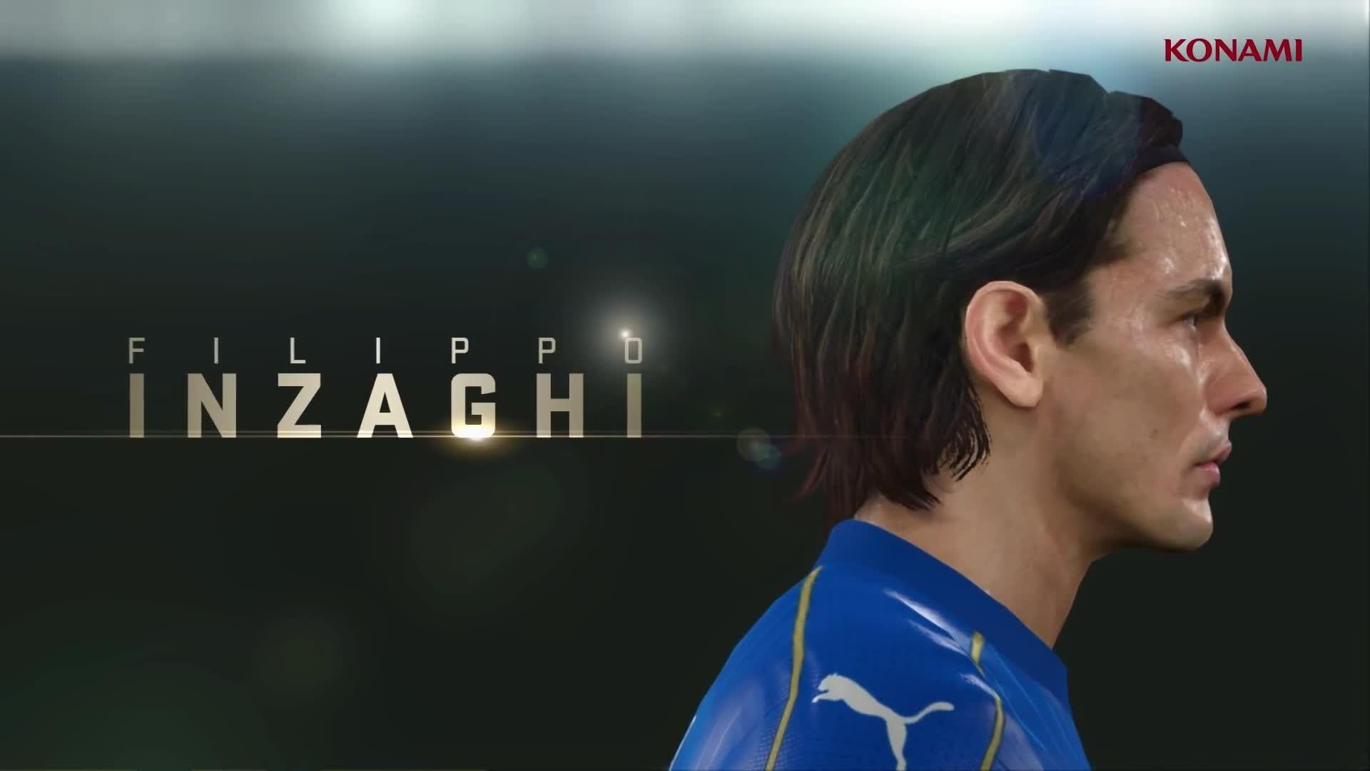 Filippo Inzaghi [Legends - PES2016] My Clube - YouTube