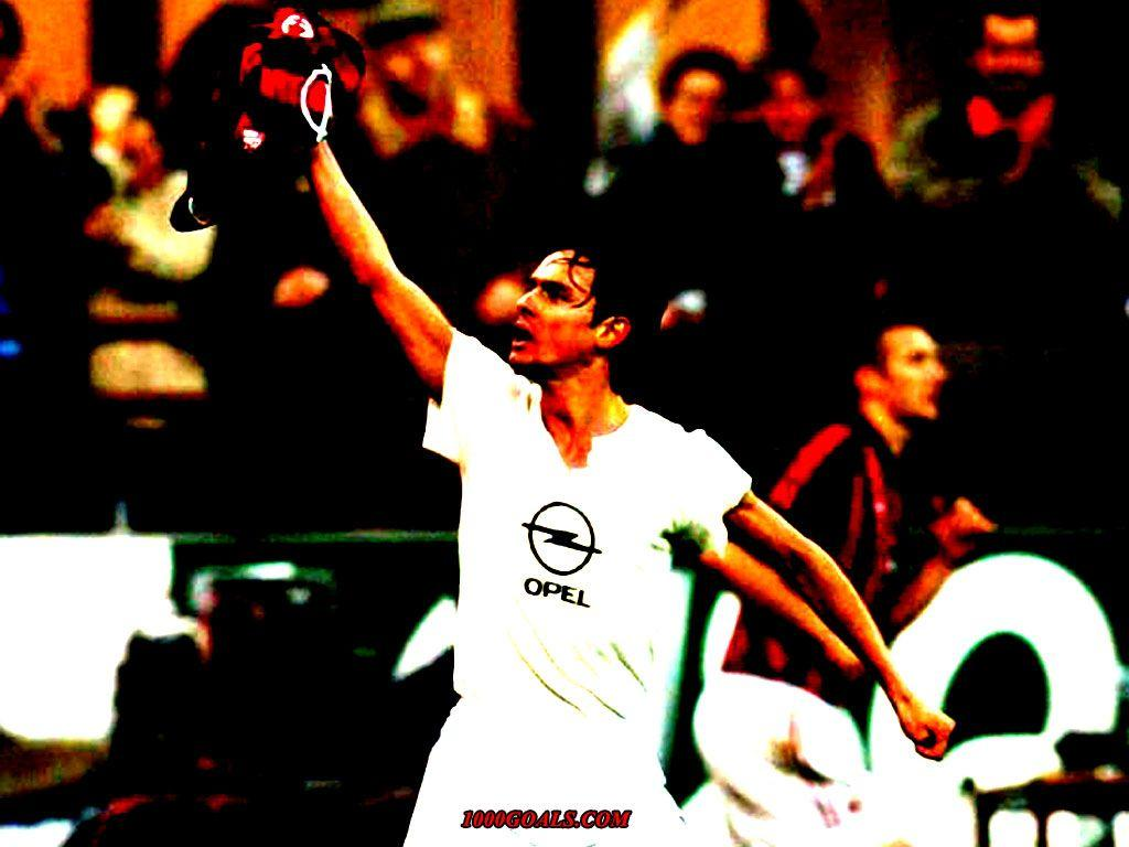 Filippo Pippo Inzaghi wallpapers | 1000 Goals