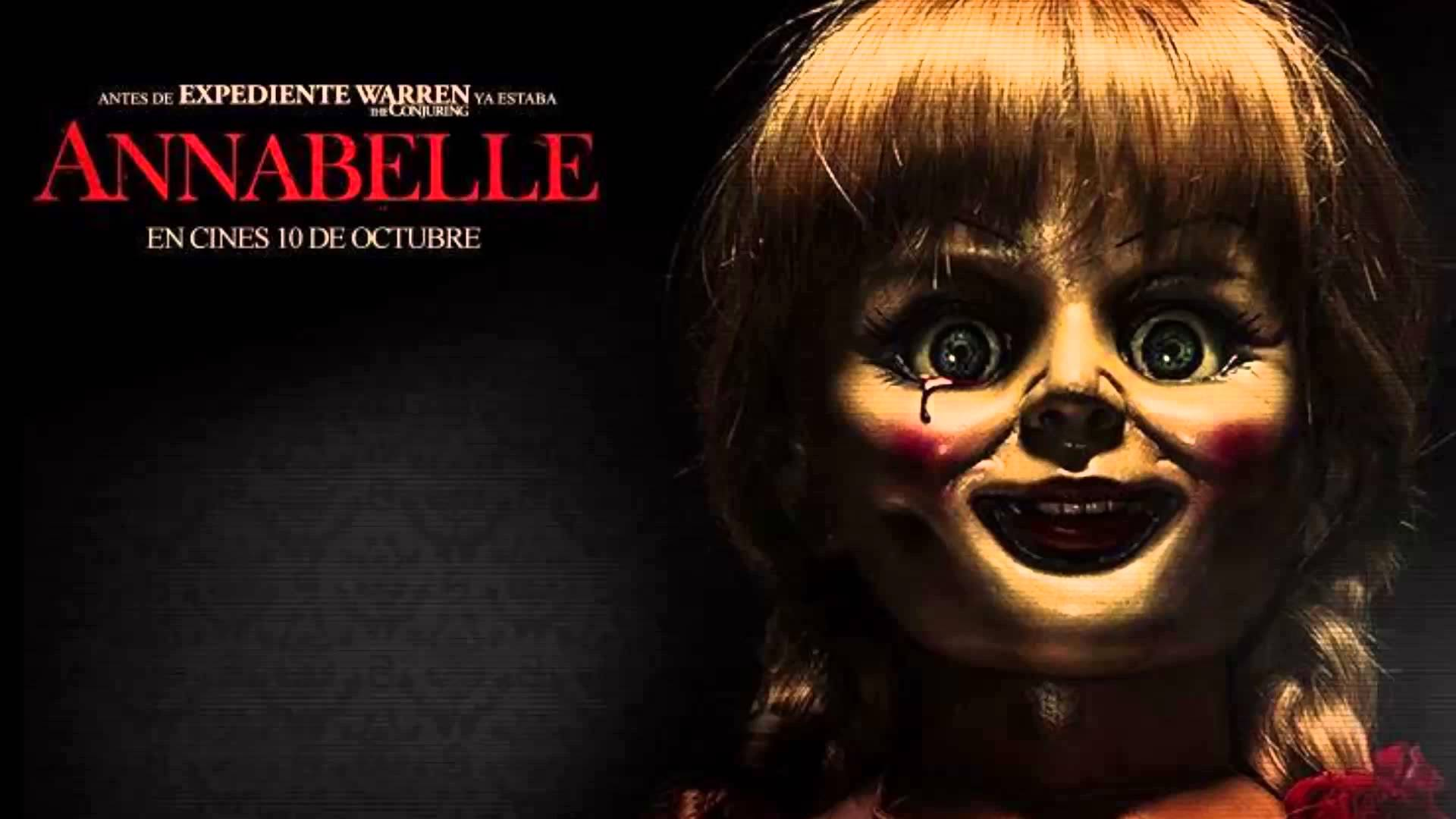 annabelle doll horror wallpaper hd