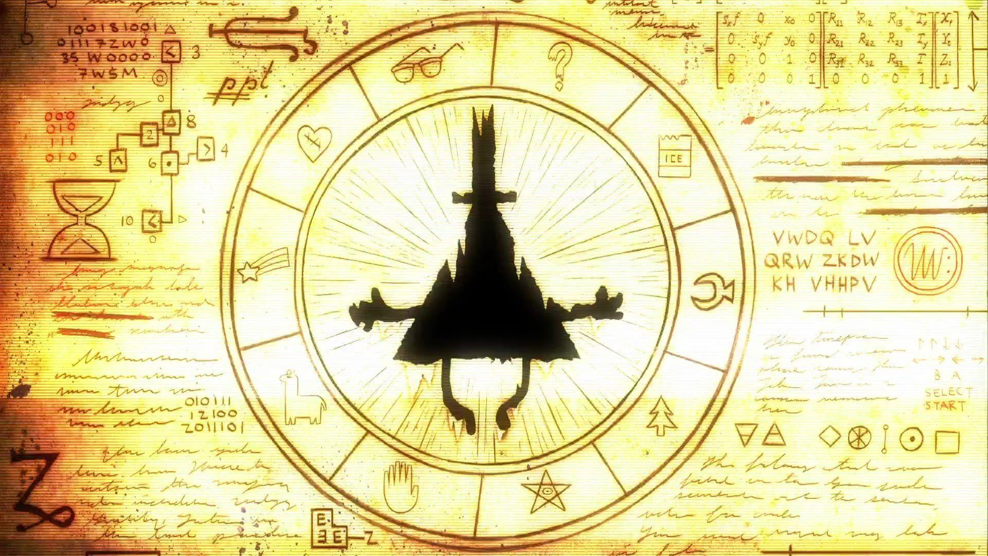 Gravity Falls Bill Cipher Wallpaper