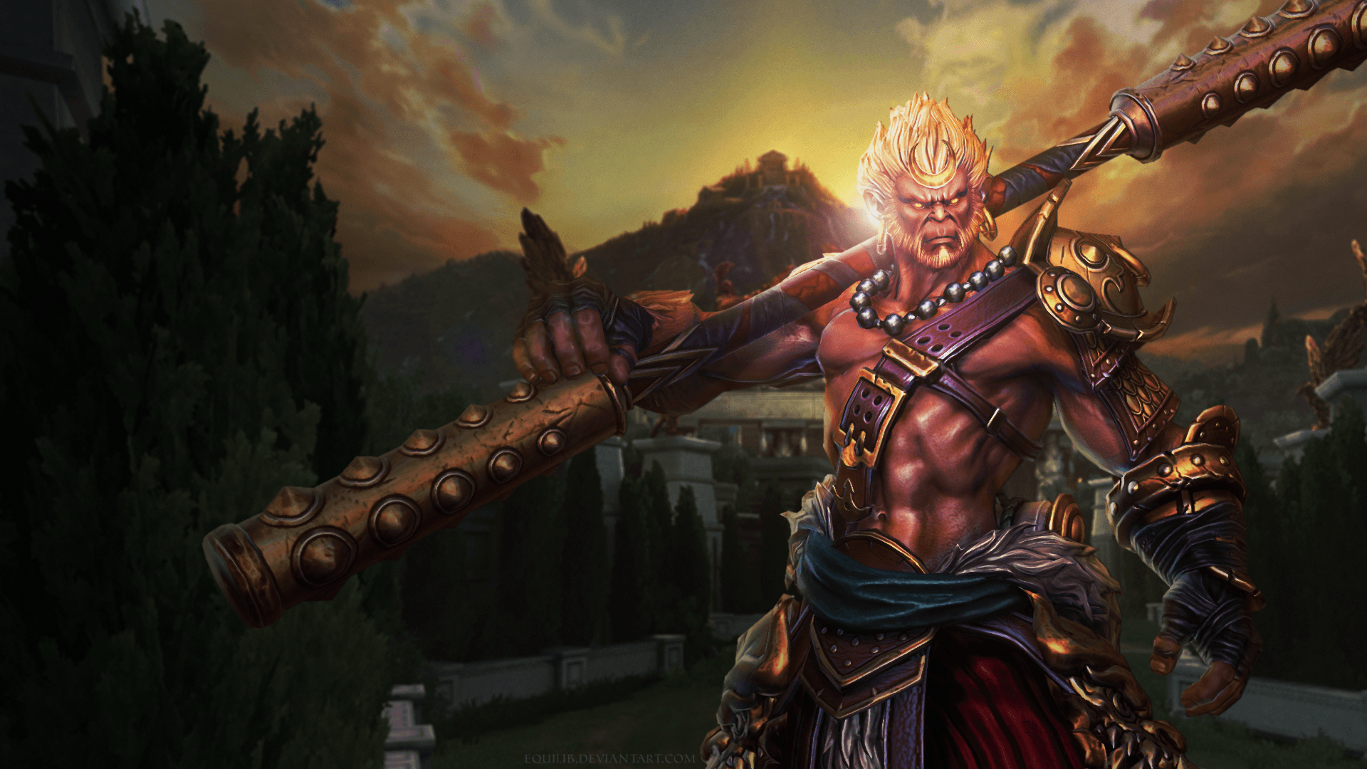Sun Wukong Wallpaper : Smite