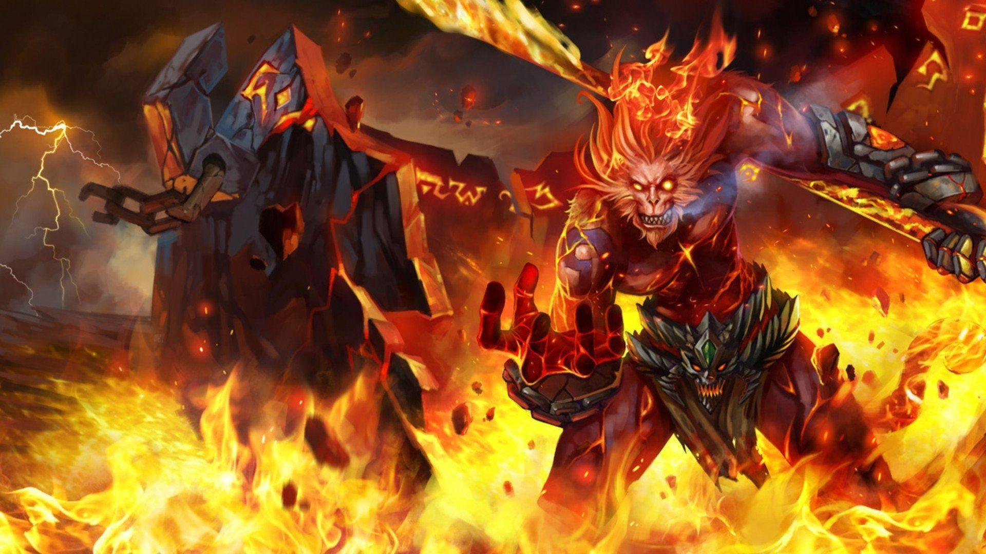 20 Wukong (League Of Legends) HD Wallpapers | Backgrounds .