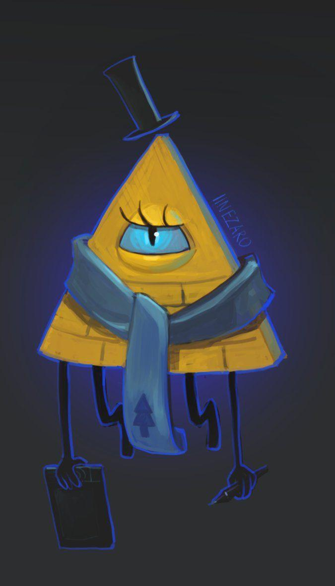 Bill Cipher by Ilnezaro on DeviantArt