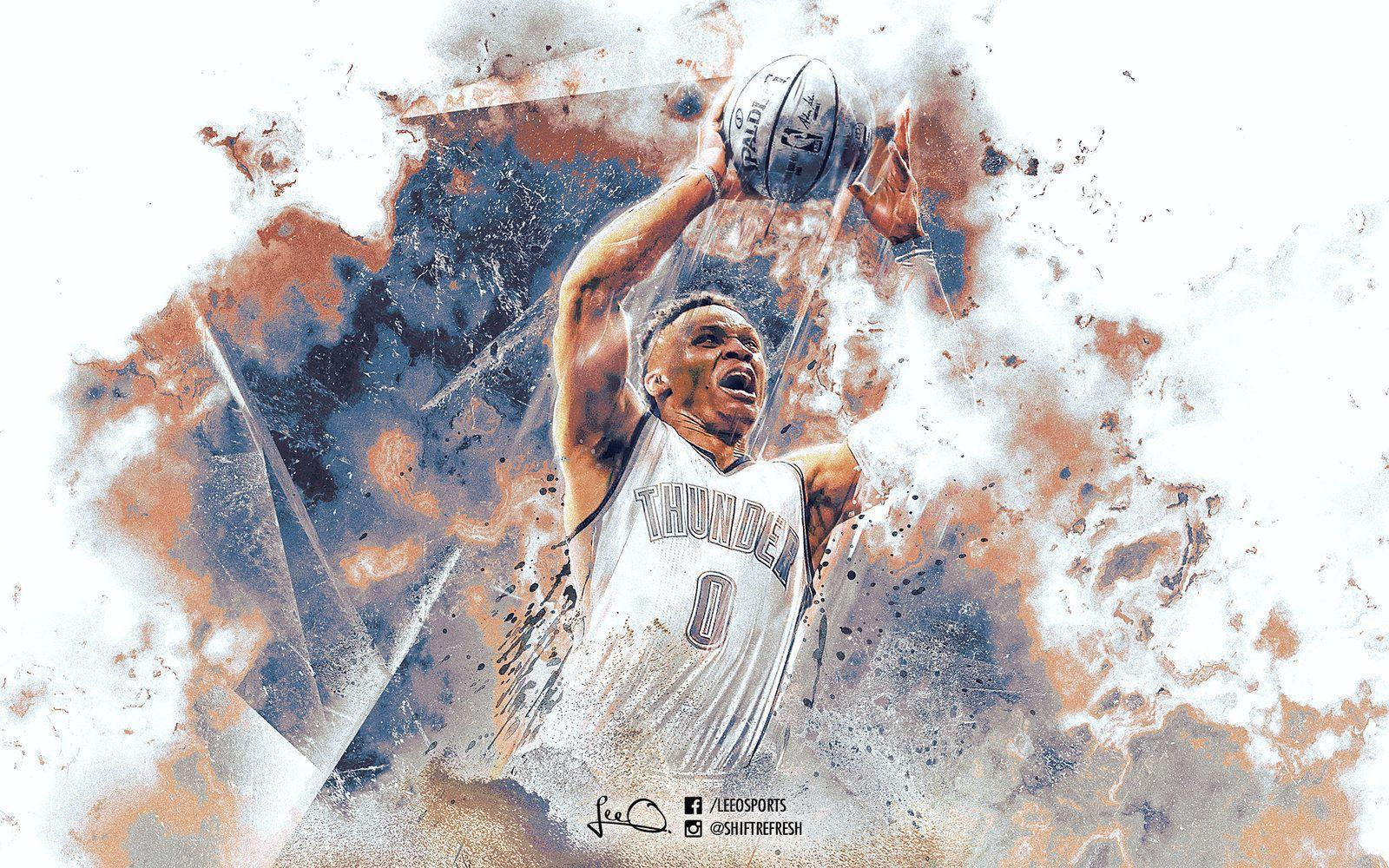 russell westbrook 2017 wallpapers wallpaper cave