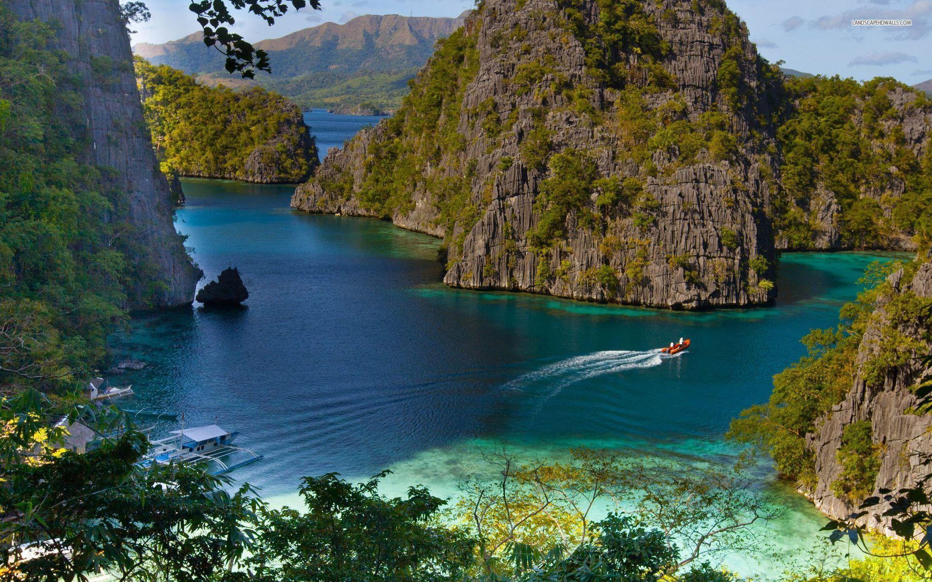 Coron Island Philippines HD Wallpaper For Desktop & Mobile