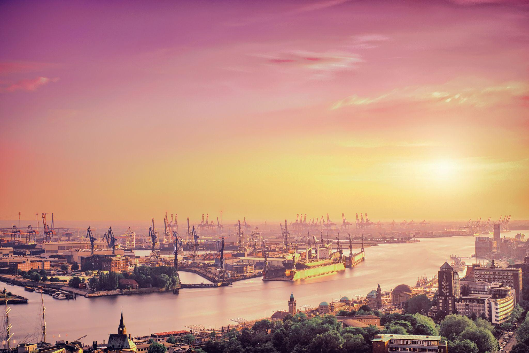 Hamburg, is the second-largest city in Germany Computer Wallpapers ...