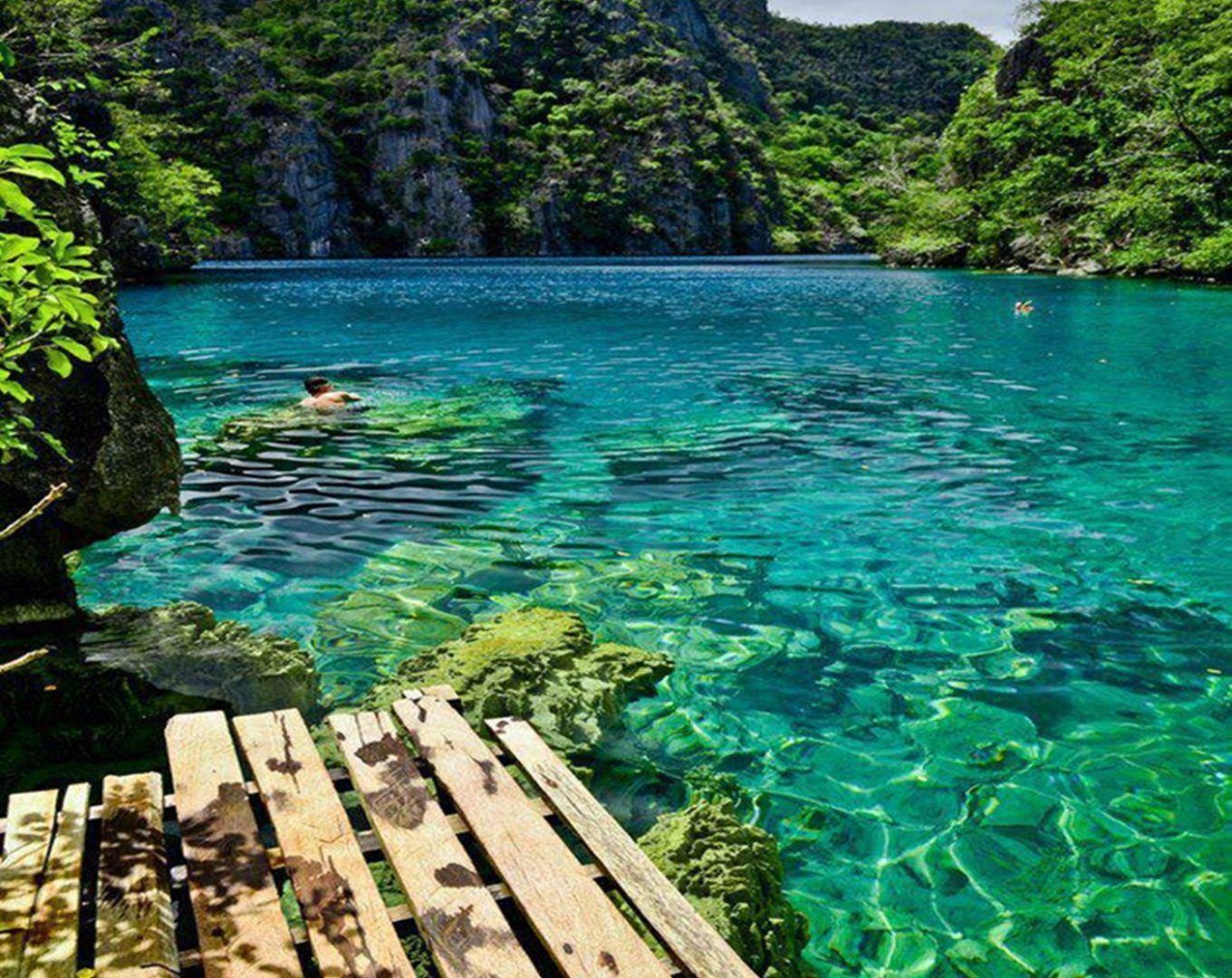 Kayangan Tag wallpapers: Lake Calm Philippines Kayangan Nature ...