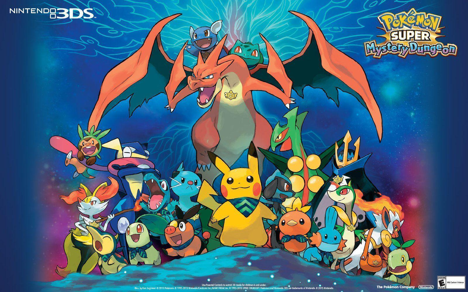 Pokemon Super Mystery Dungeon Desktop Wallpaper - Play Nintendo
