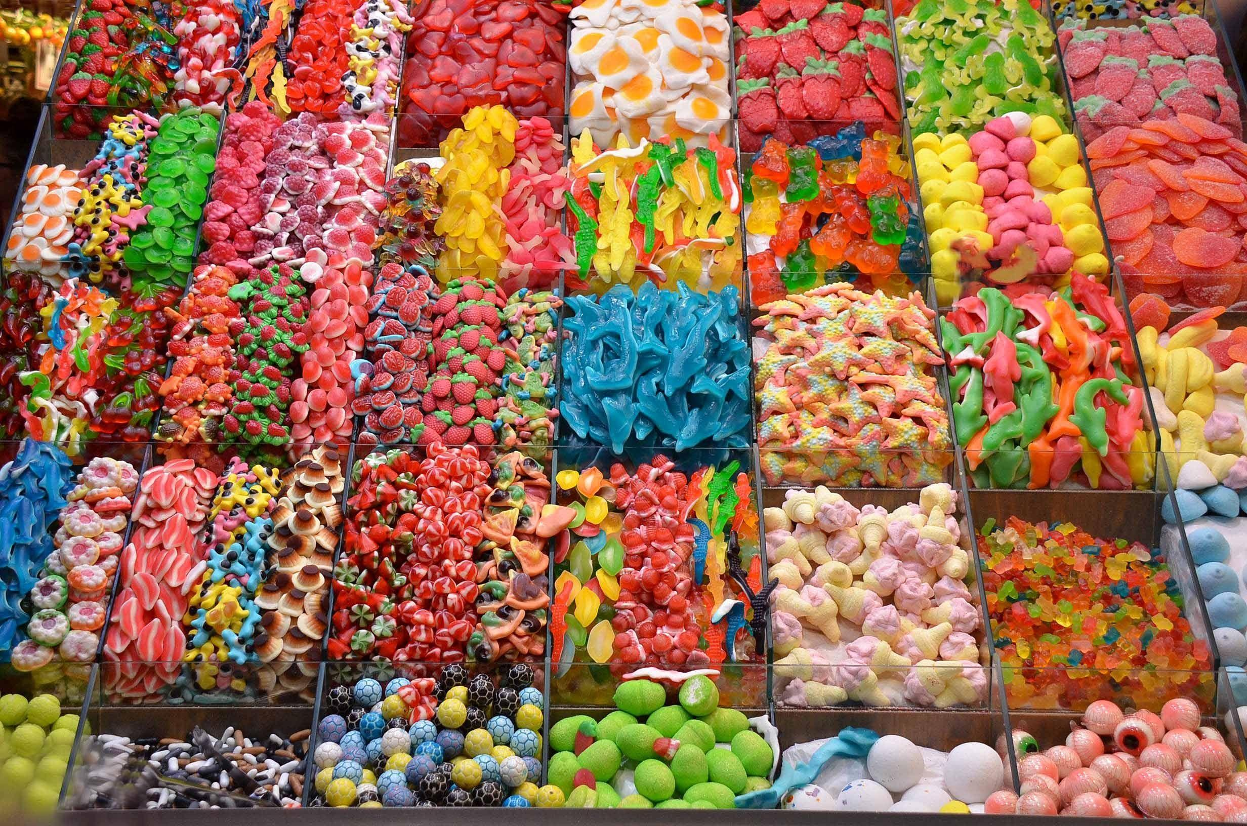 Candy Shop Wallpapers Wallpaper Cave