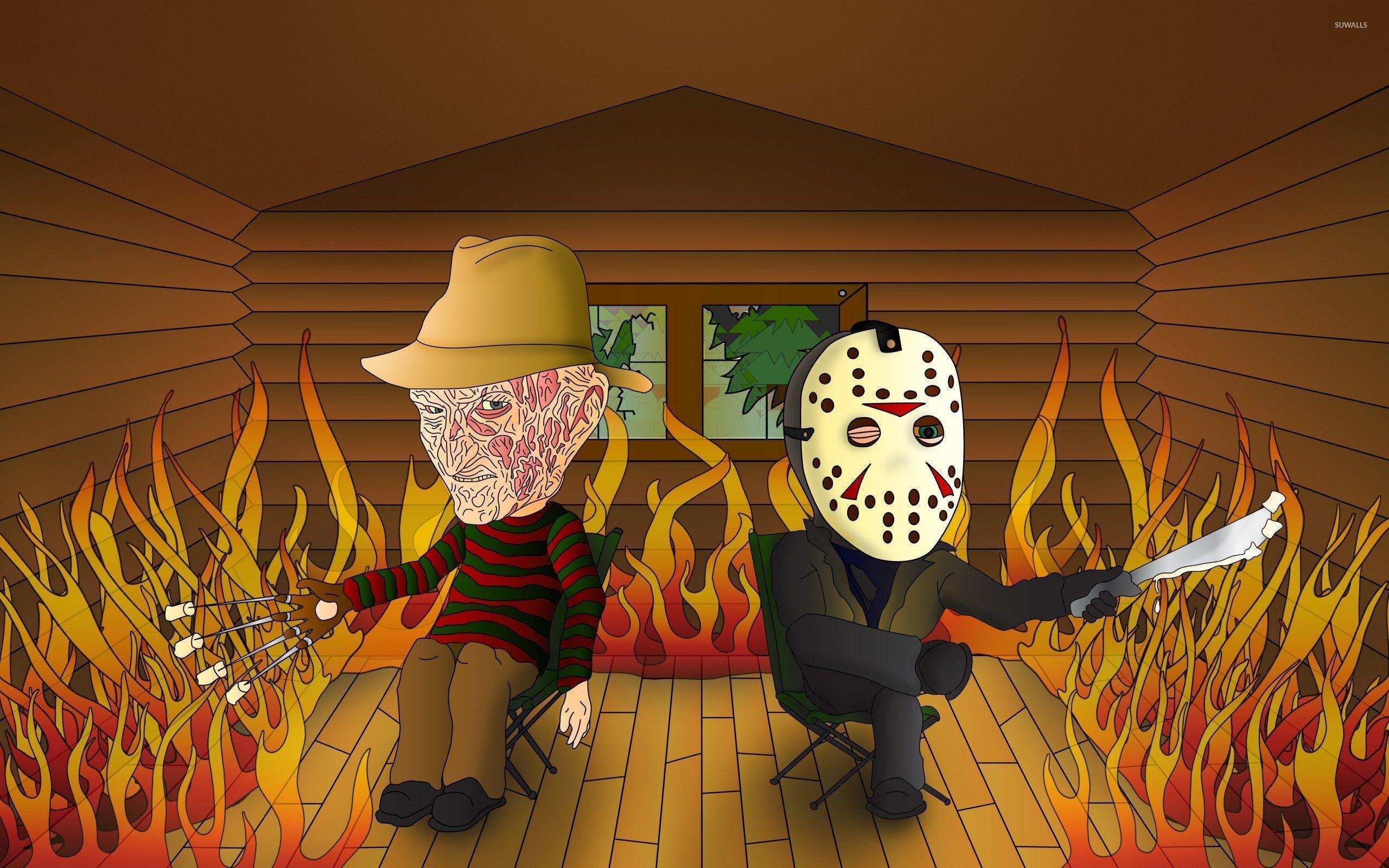 Freddy vs Jason - Jason Voorhees Wallpaper (24260878) - Fanpop