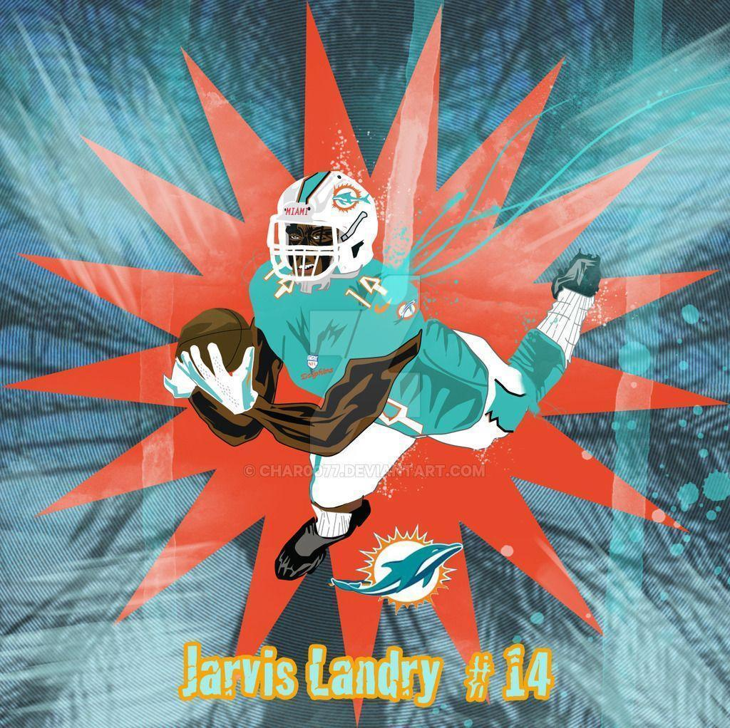 Miami Dolphins Jarvis Landry by char0077 on DeviantArt