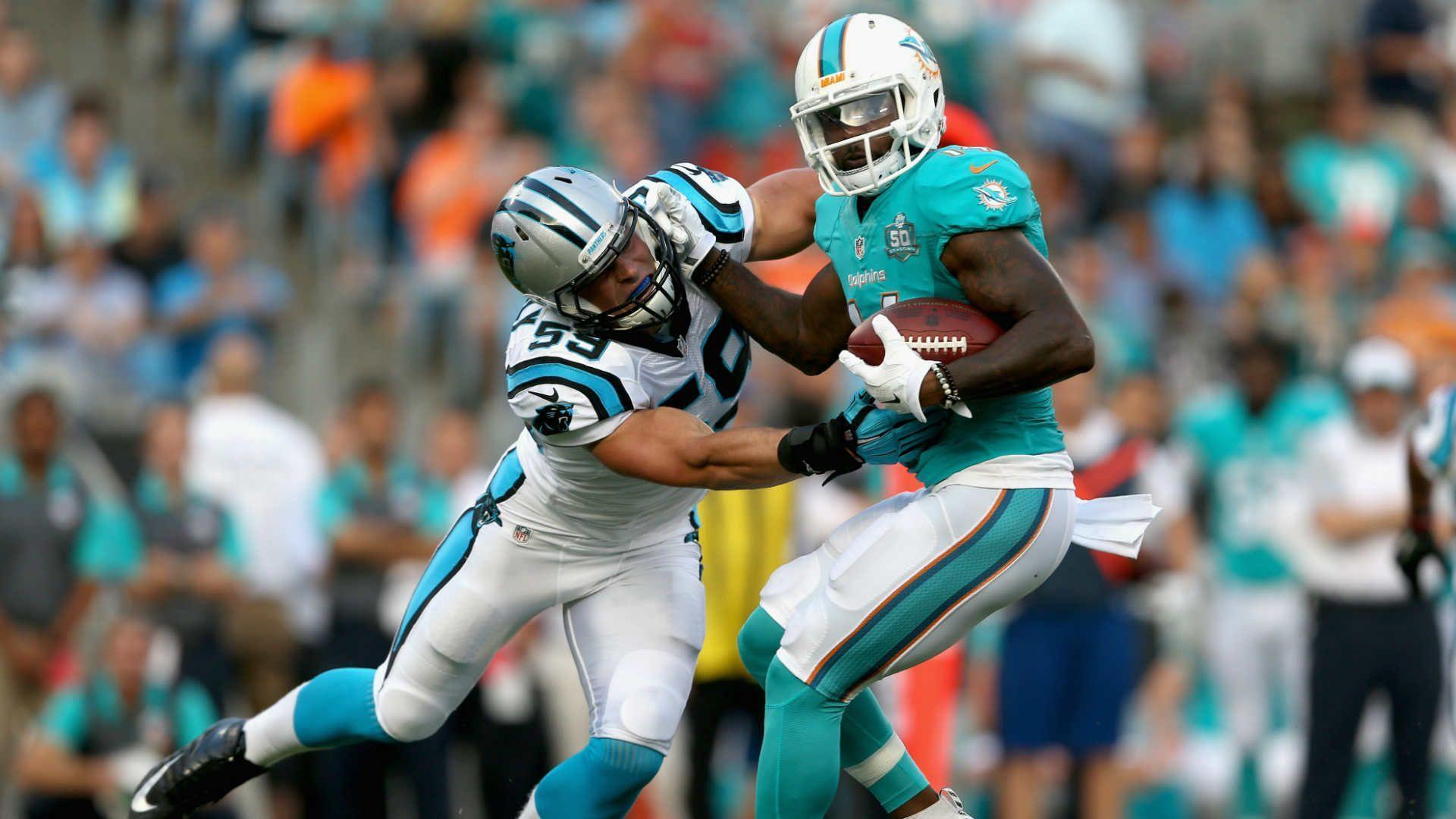 Dolphins' Jarvis Landry, LaMike James reportedly fought at team ...