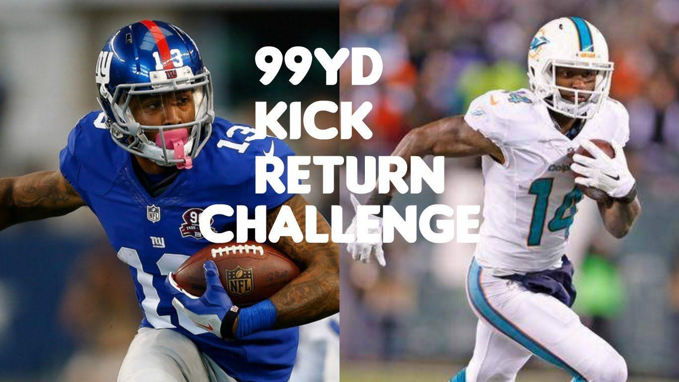 WHO CAN RETURN A 99YD KICK RETURN?!? ODELL BECKHAM JR VS JARVIS ...
