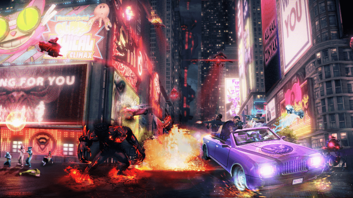 Saints Row 4 Wallpapers: Saints Row Wallpapers