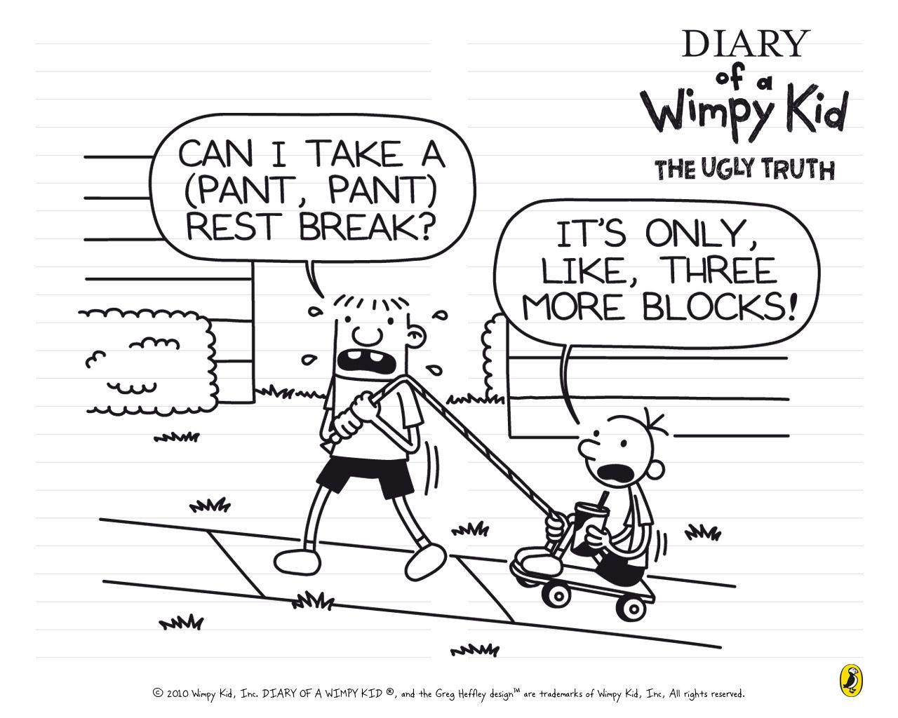 Diary Of A Wimpy Kid Wallpapers Wallpaper Cave