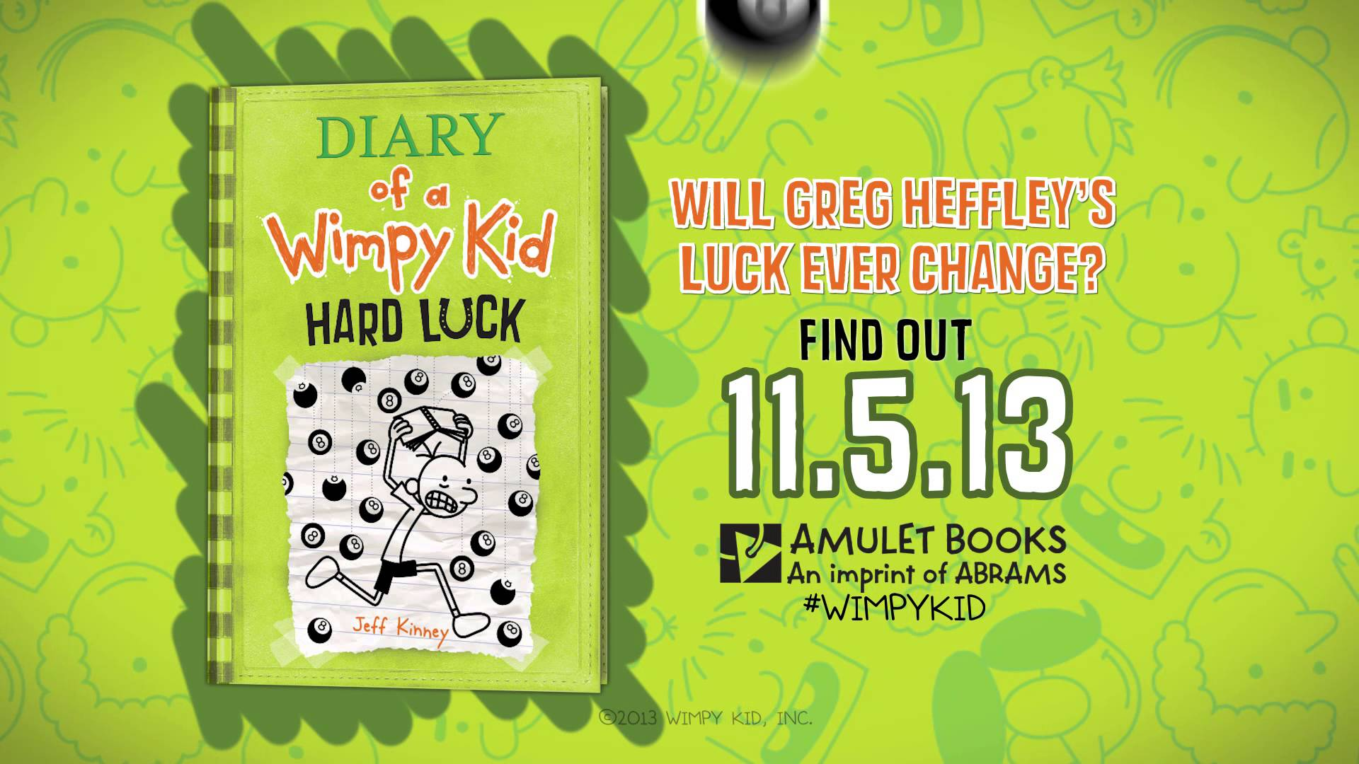 Diary of a wimpy kid wallpapers wallpaper cave diary of a wimpy kid hard luck book 8 youtube solutioingenieria Image collections