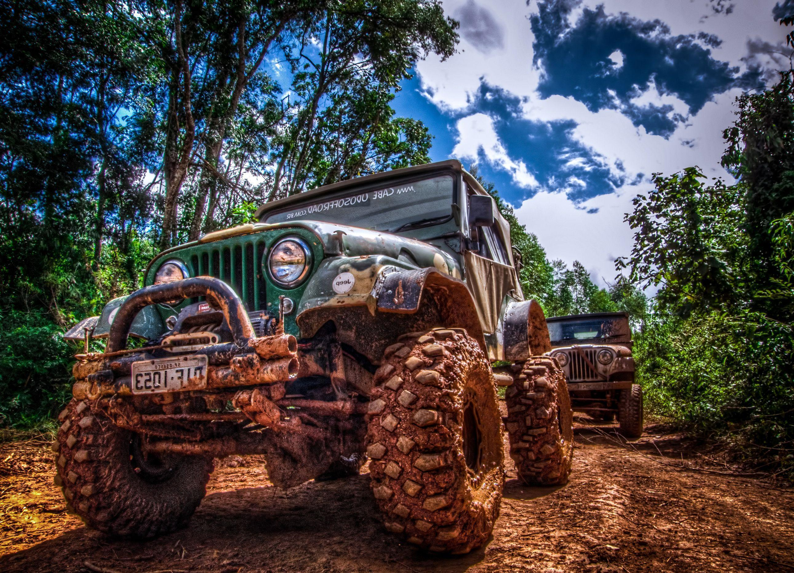 Mud Jeep Wallpapers For Desktop