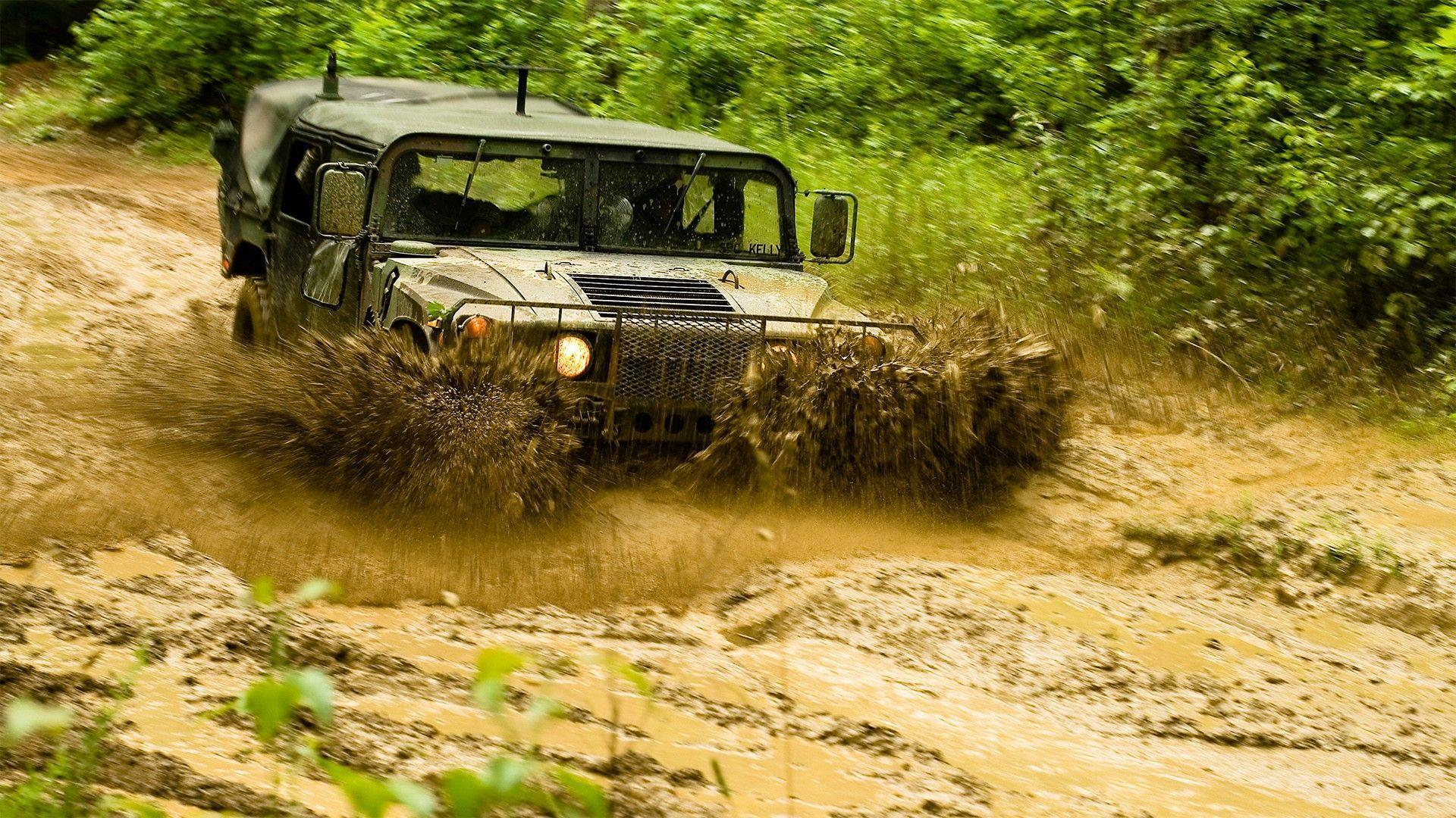Hummer, Car, Trucks, Mud Wallpapers HD / Desktop and Mobile