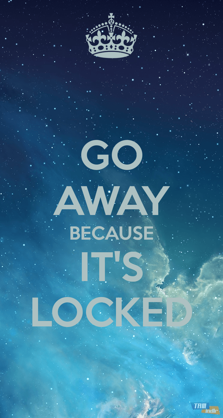 Its Locked For A Reason Wallpapers