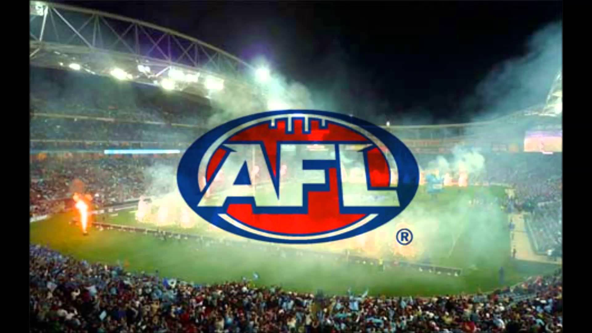Australian football league field