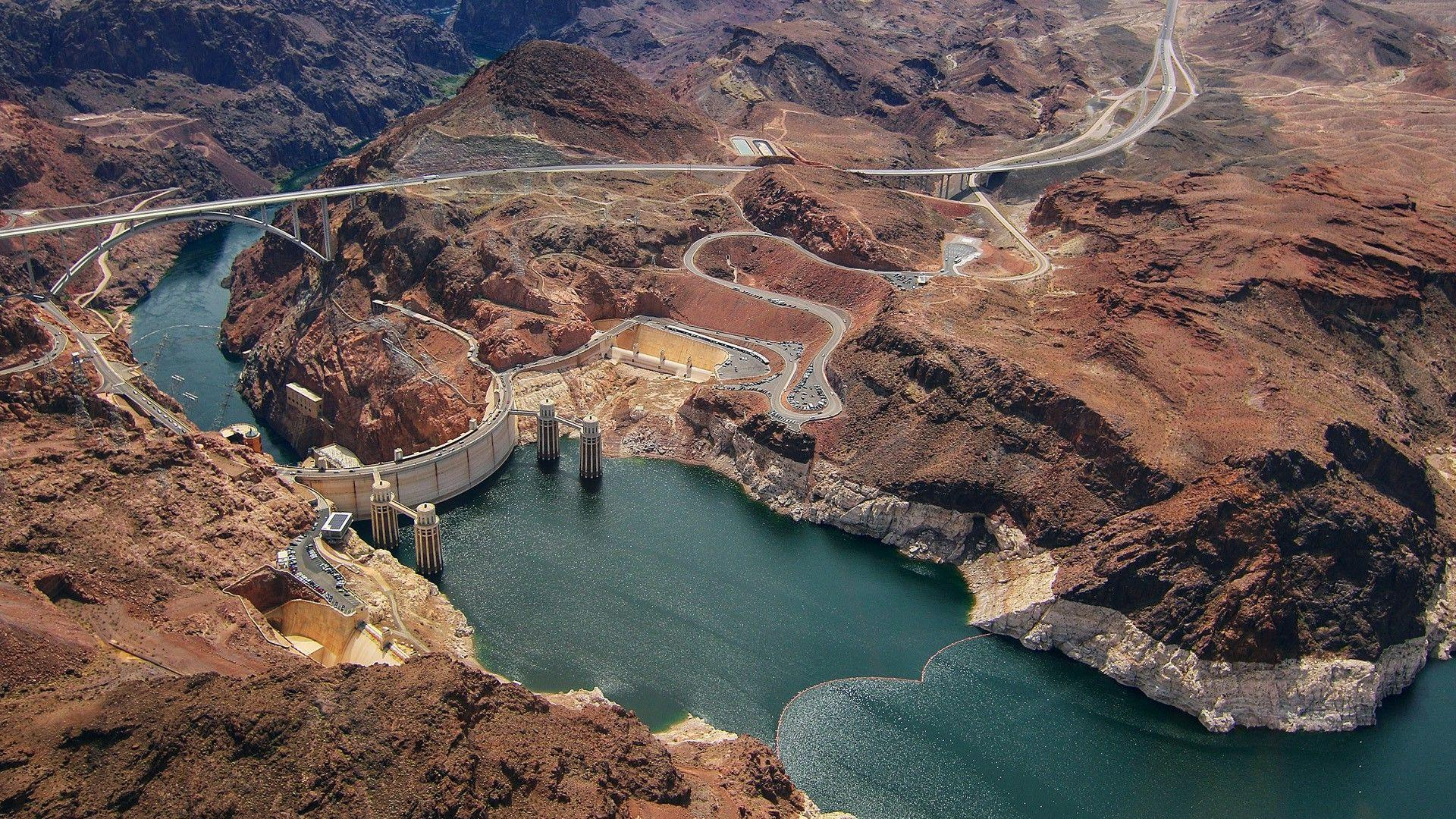 nature, Landscape, Road, Hoover Dam Wallpapers HD / Desktop and