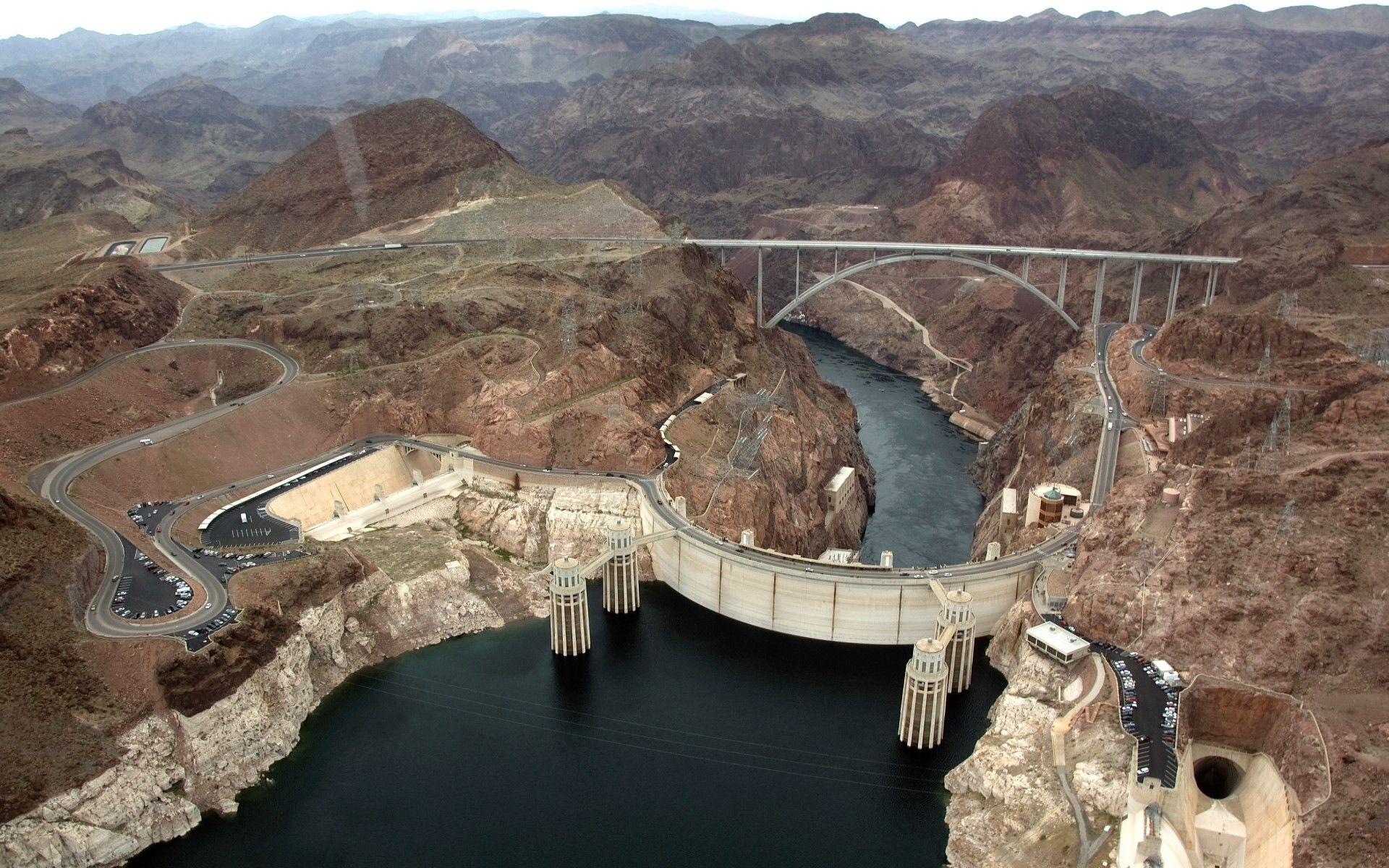 Hoover Dam, Architecture, Nevada Wallpapers HD / Desktop and