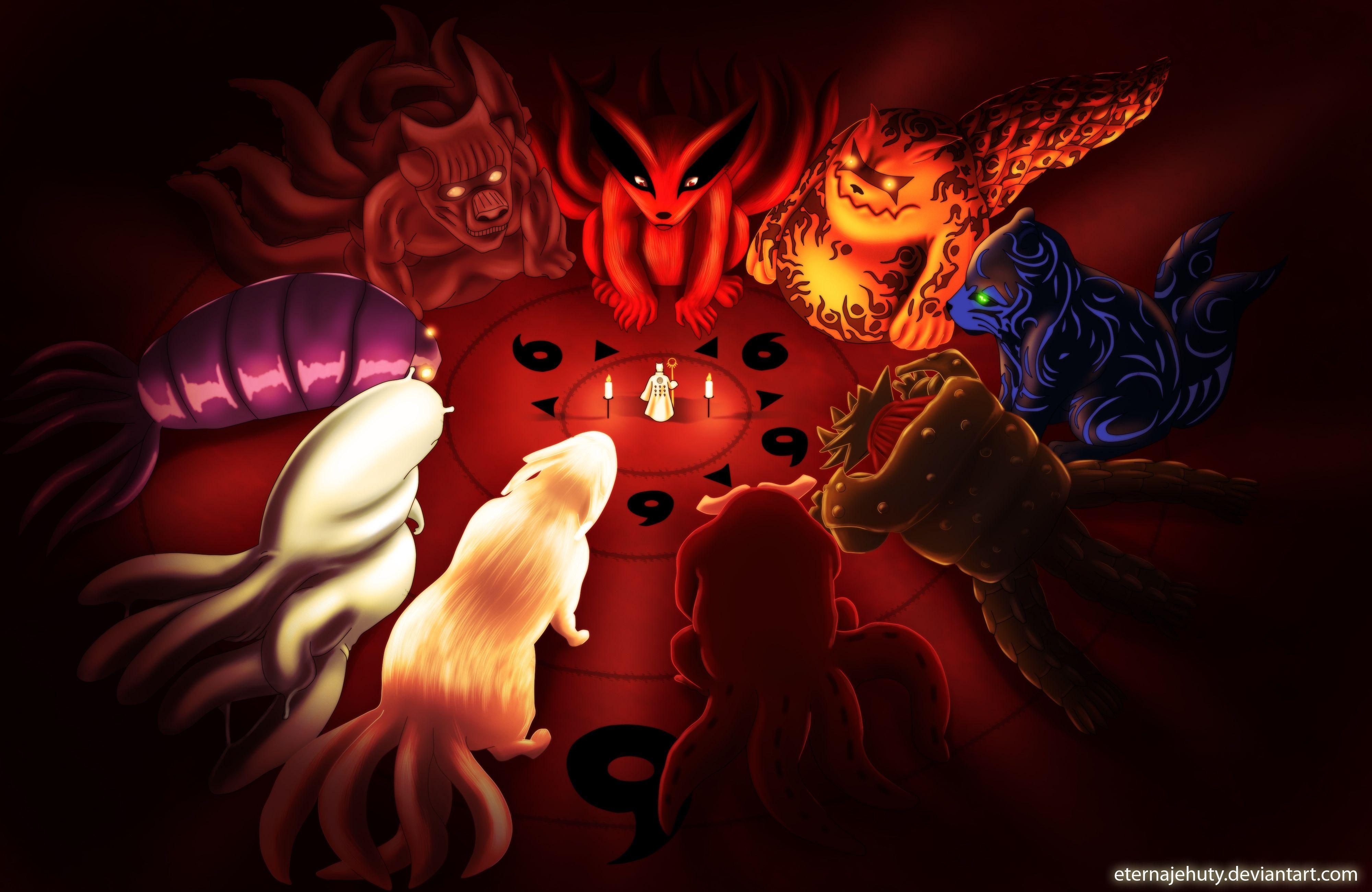 Tailed Beasts Wallpapers - Wallpaper Cave