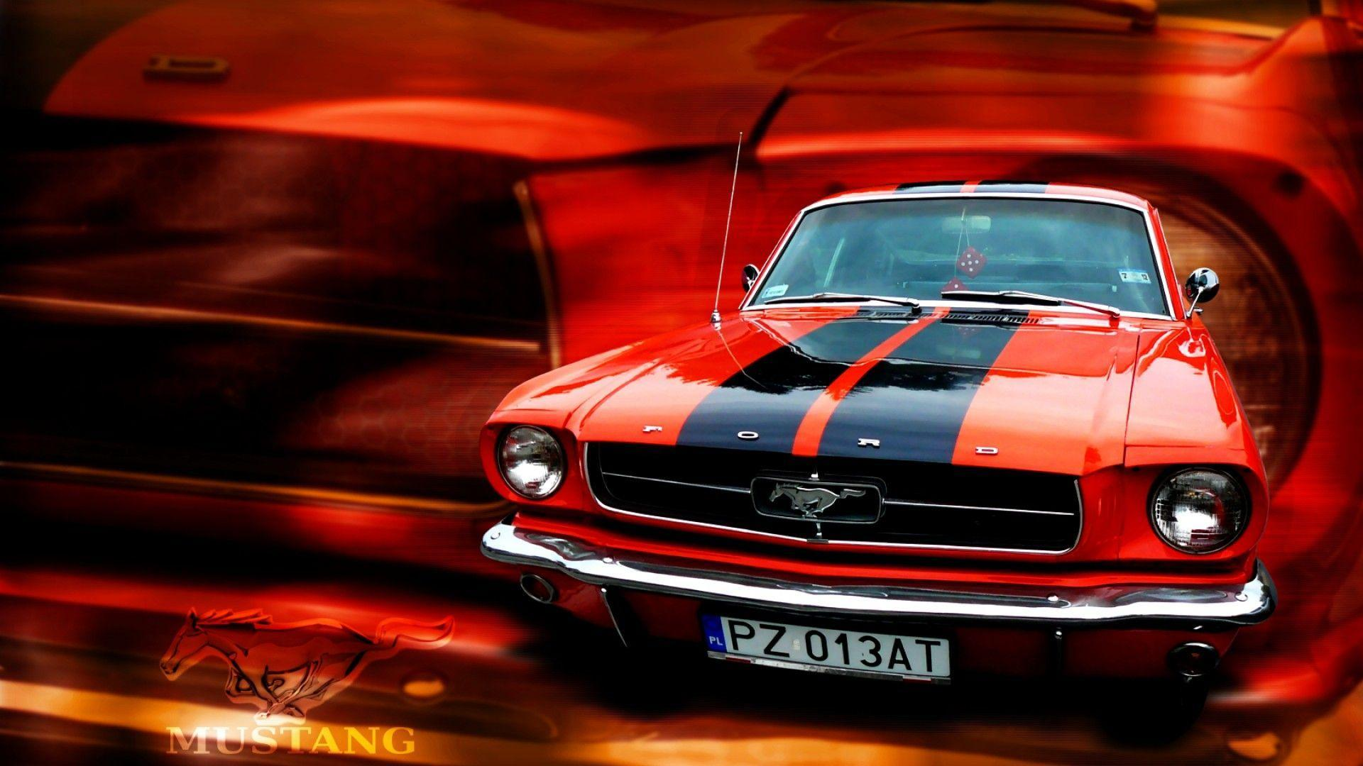 Ford Mustang Red Wallpapers Wallpaper Cave