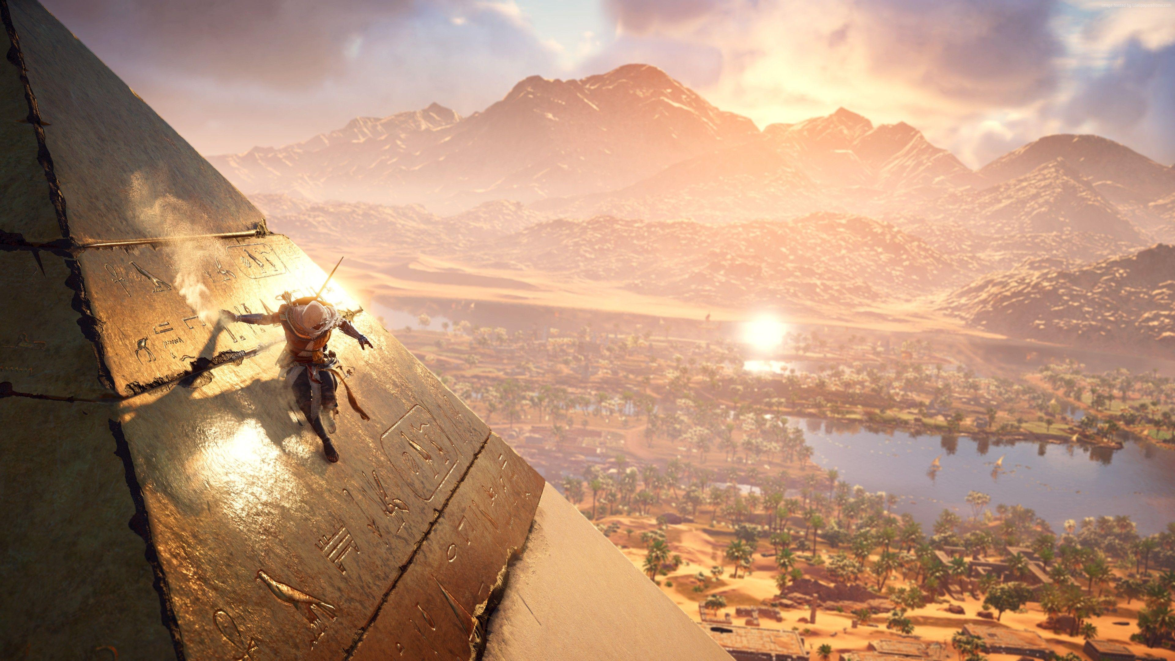 Wallpapers Assassin's Creed Origins, 4k, E3 2017, screenshot, Games