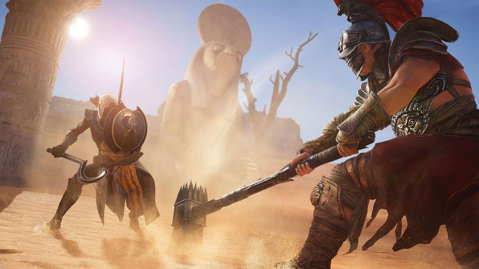 Assassin S Creed Origins Wallpapers Wallpaper Cave
