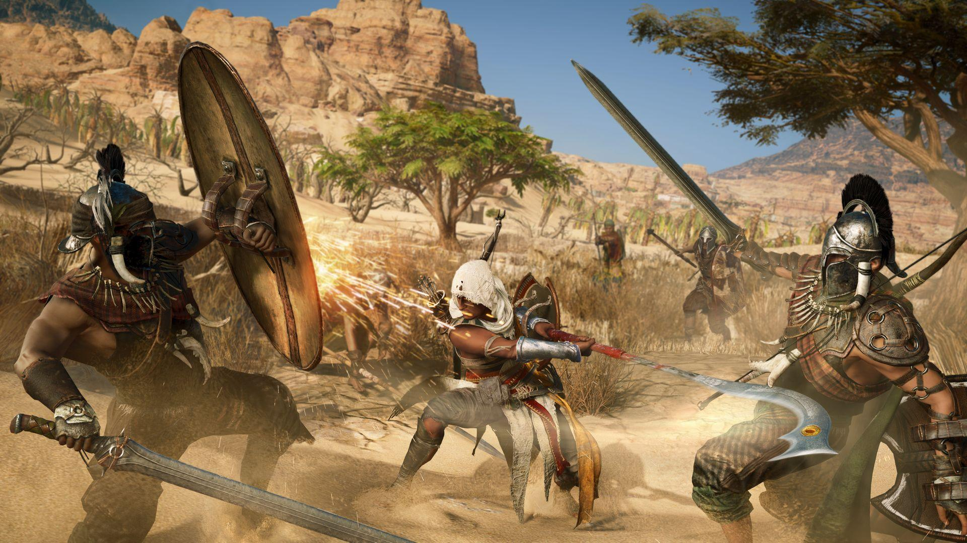 Dive into Egypt with our first play of Assassin's Creed Origins