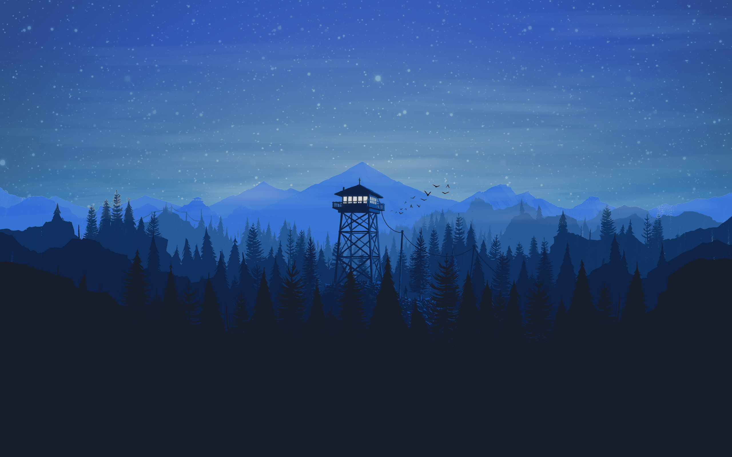 Blue Firewatch