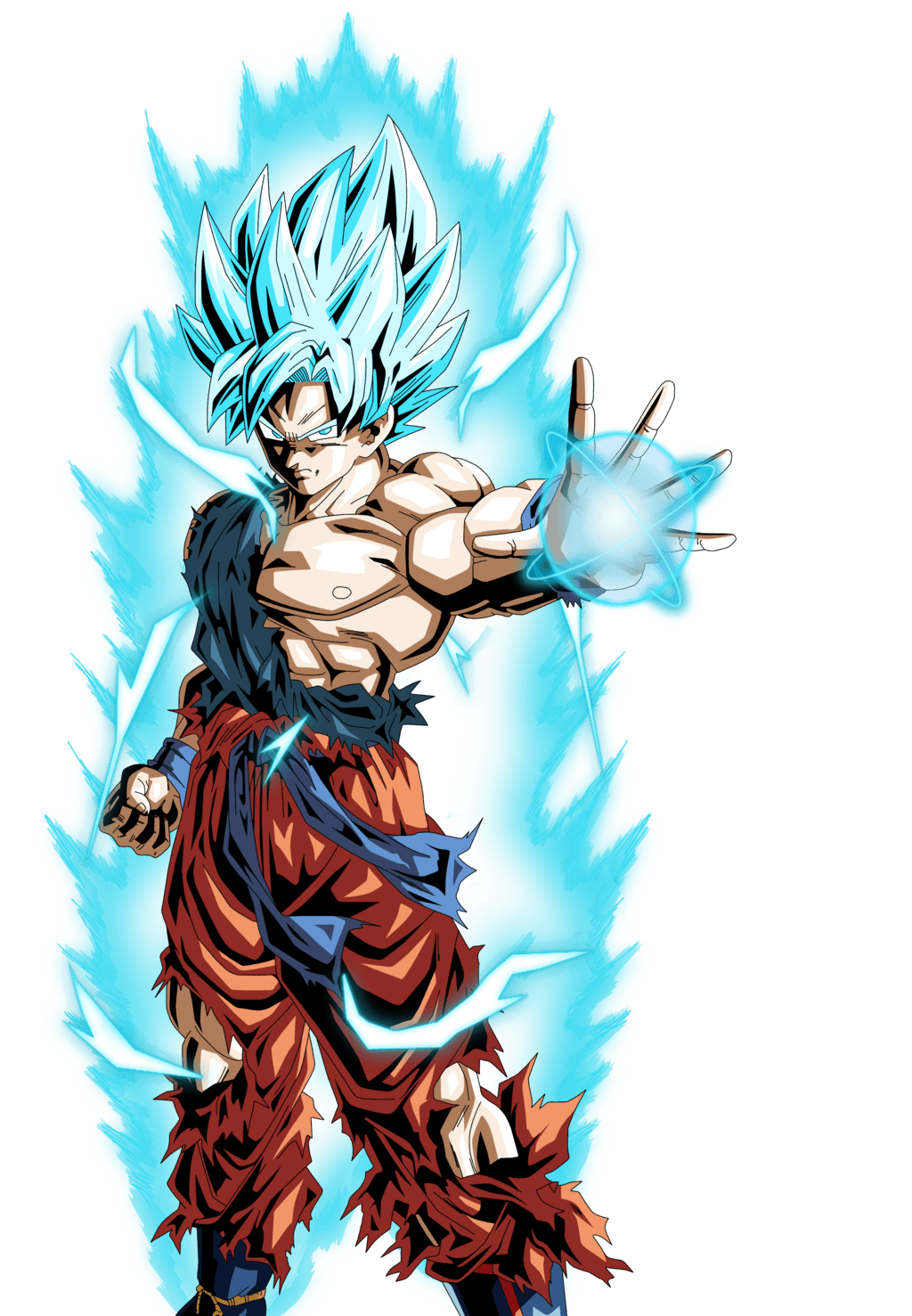 Super saiyan god super saiyan goku wallpapers wallpaper cave - Super sayen 10 ...