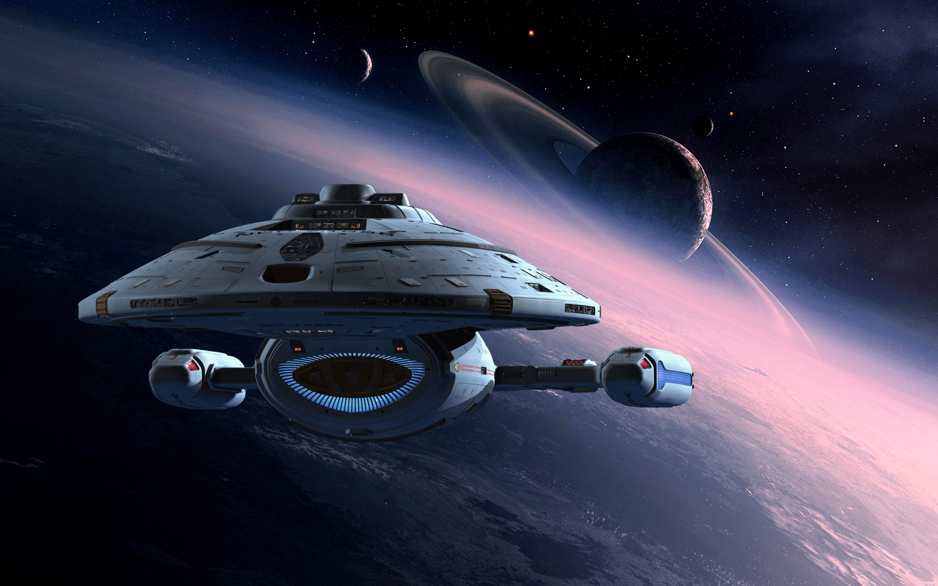 27 Star Trek: Voyager HD Wallpapers