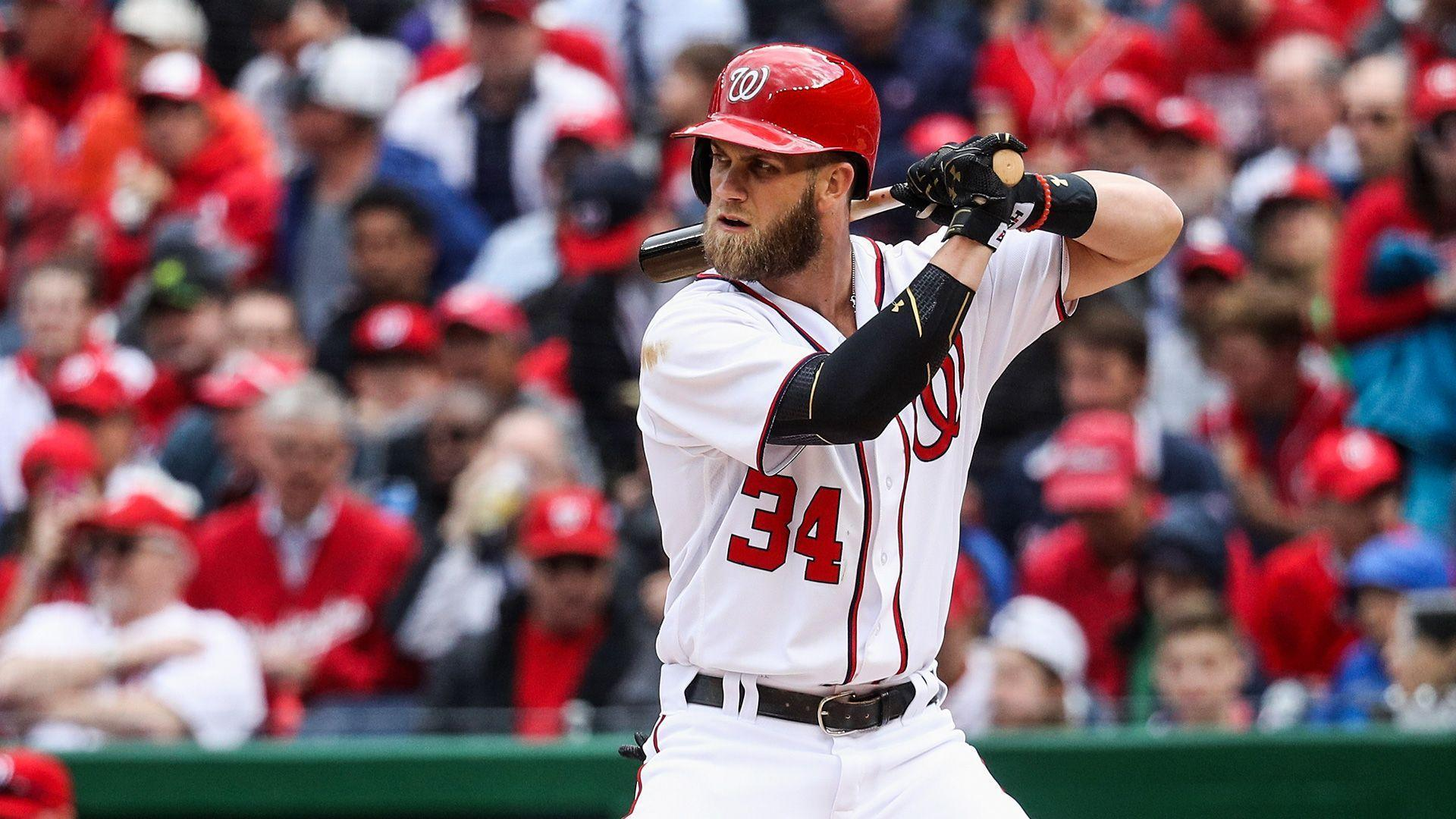 Bryce Harper Crushes Homer In First Spring Training At Bat