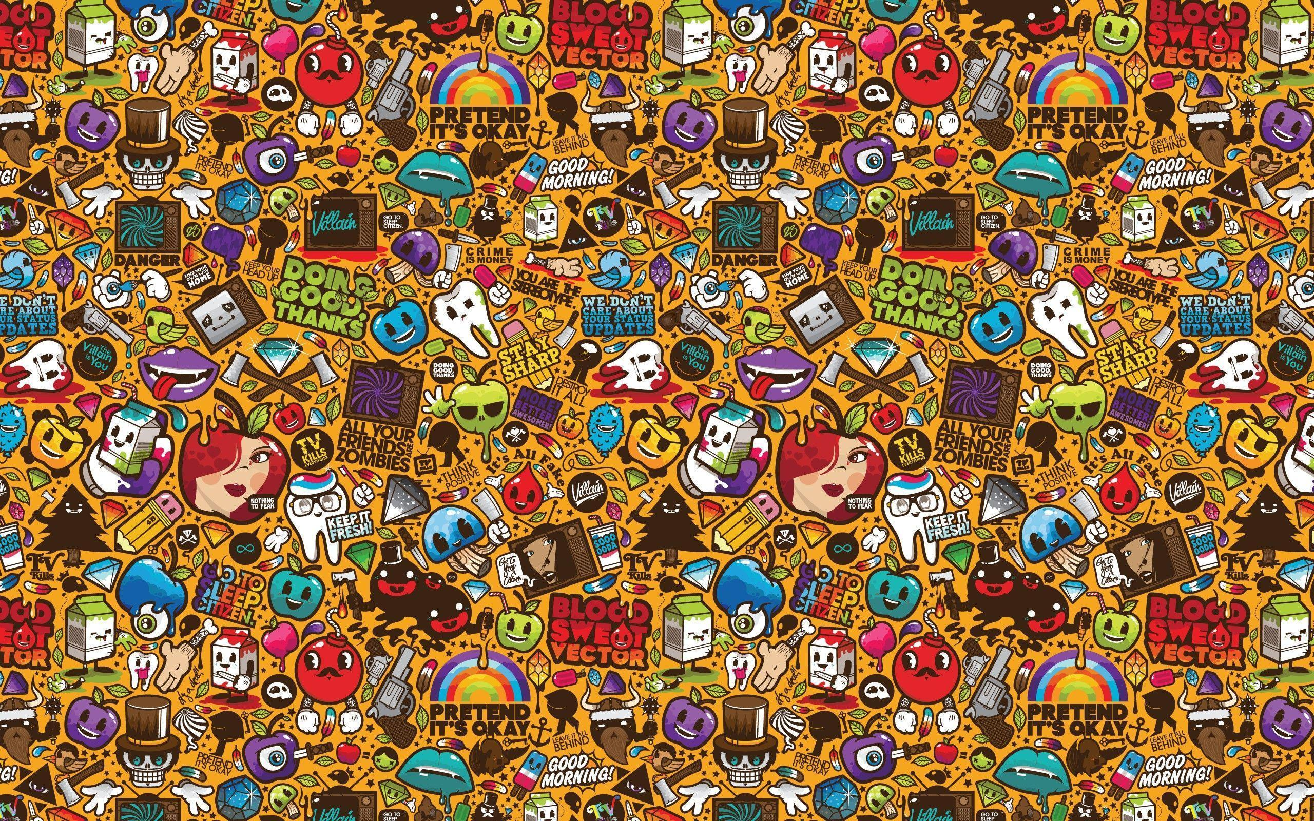 Doodle Backgrounds HD