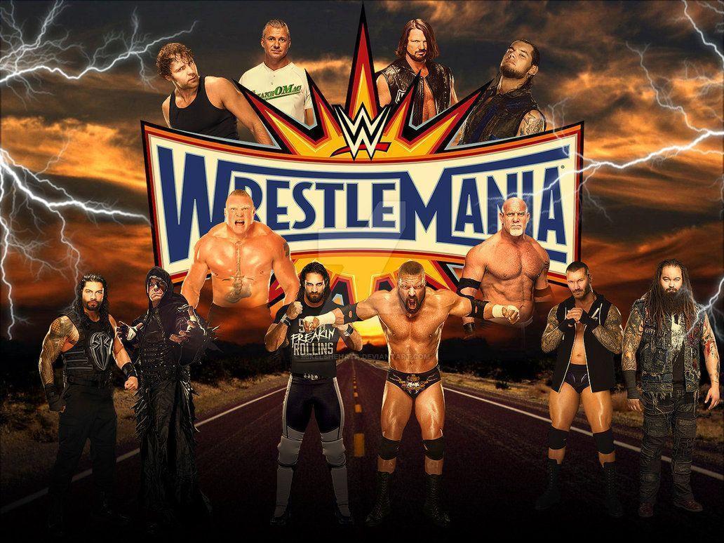Wrestlemania 33 Wallpapers