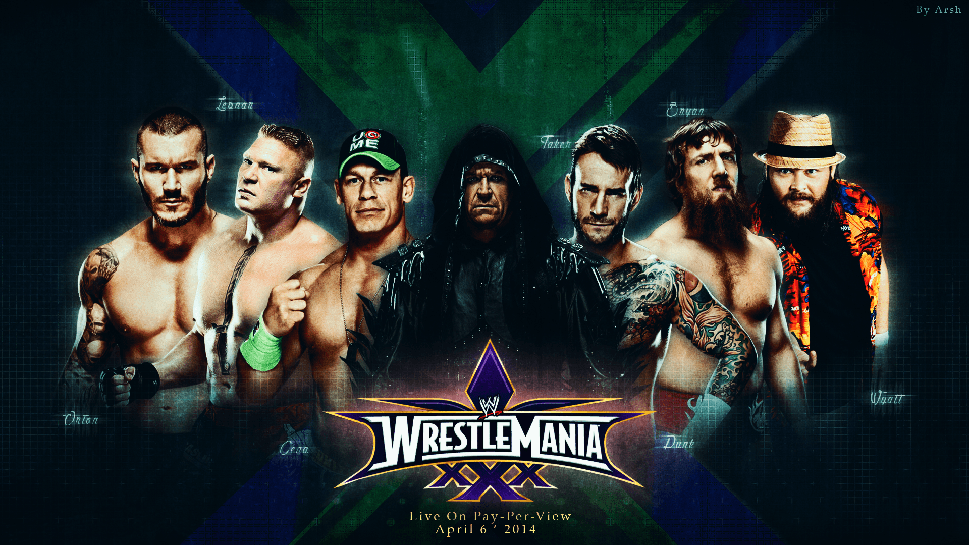 wrestlemania 33 wallpapers wallpaper cave