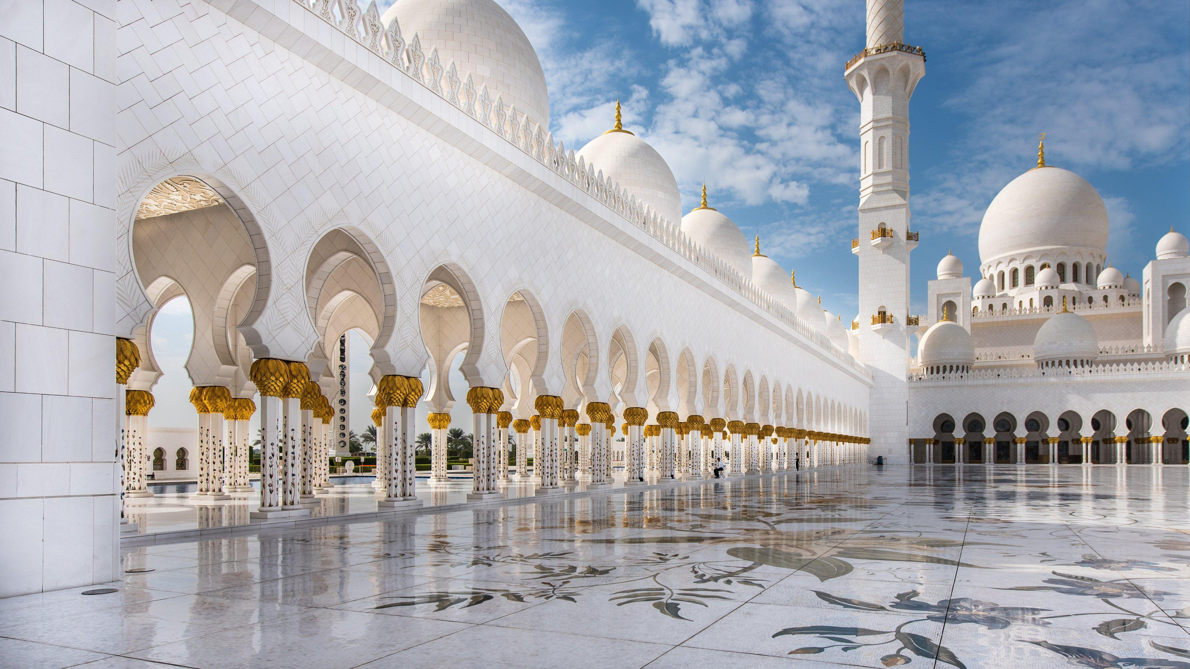 Abu Dhabi Mosque Wallpapers in HD, 4K and wide sizes