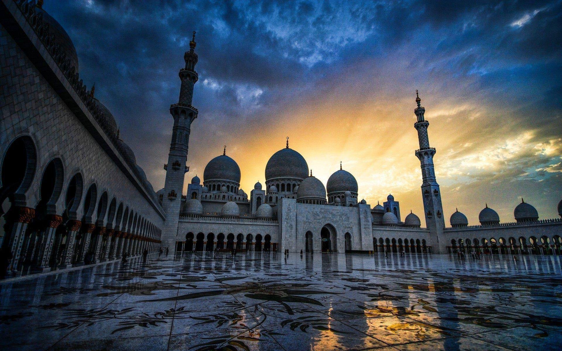 Grand Mosque Abu Dhabi Wallpapers HD For Desktop & Mobile