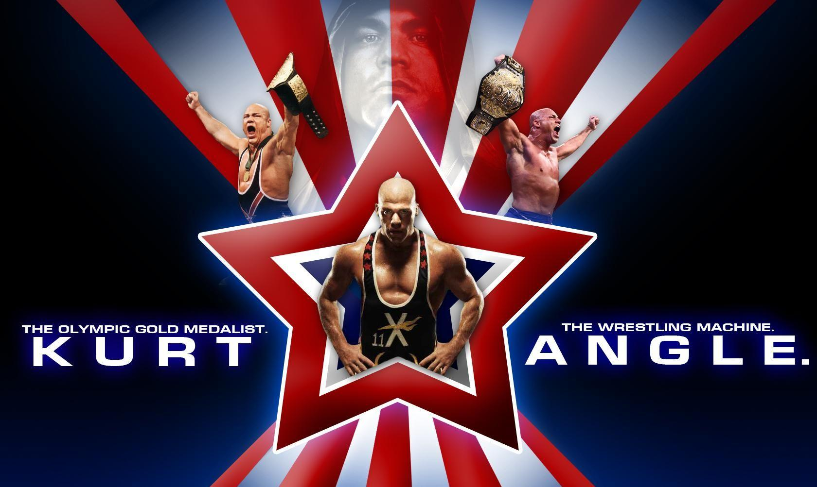 Wallpaper of Kurt Angle - WWE Superstars, WWE Wallpapers, WWE PPV's