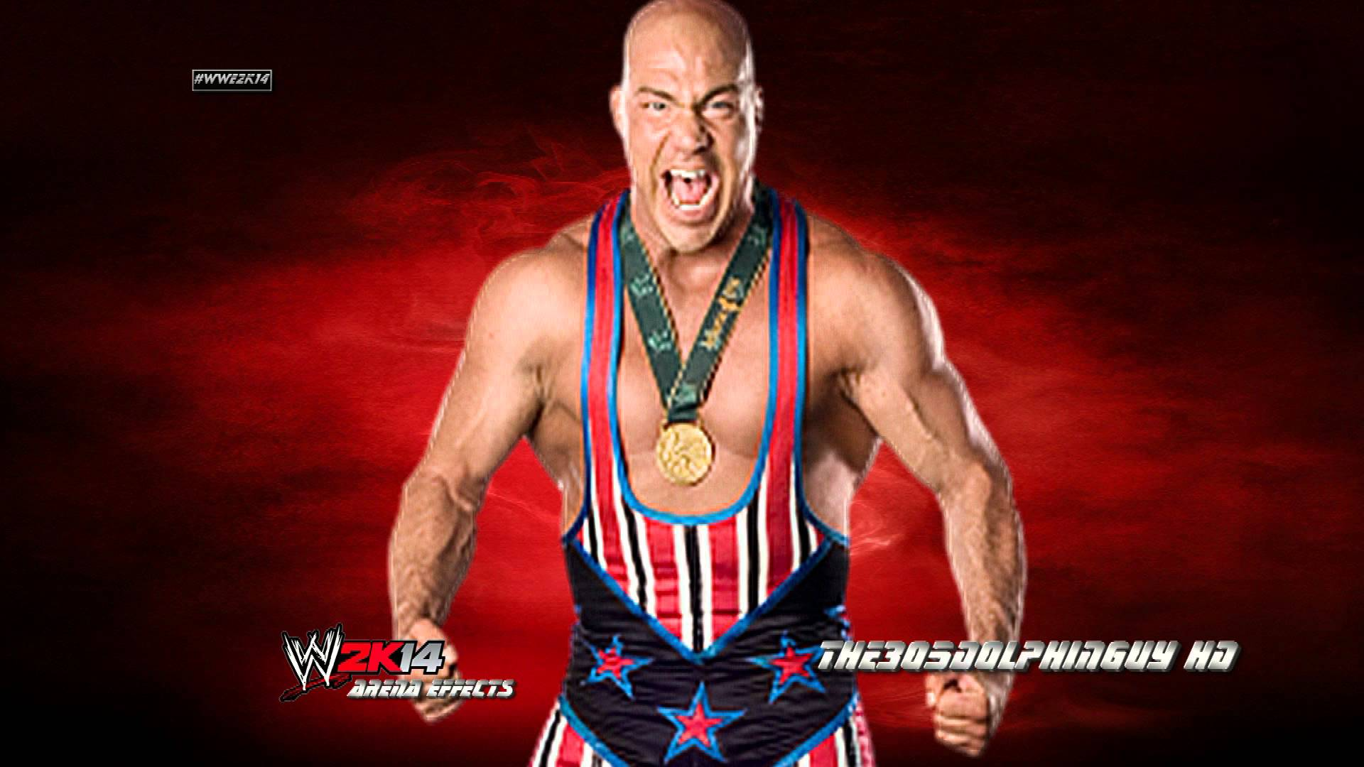 WWE: Kurt Angle 1st Theme - Medal (HQ + Arena Effects) - YouTube